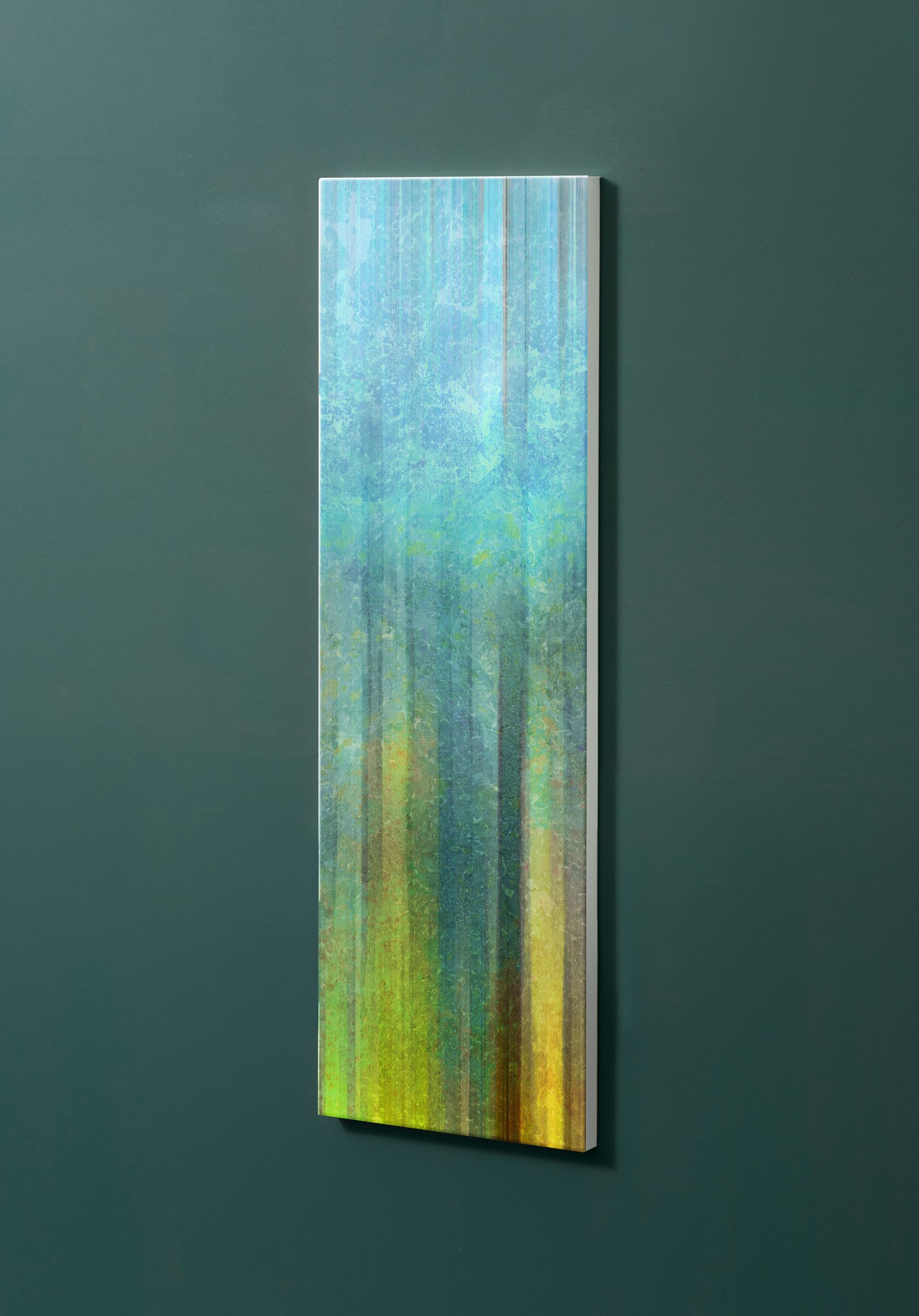 Magnettafel NOTIZ 30x90cm Motiv-Pinnwand M107 Abstrakt Kunst