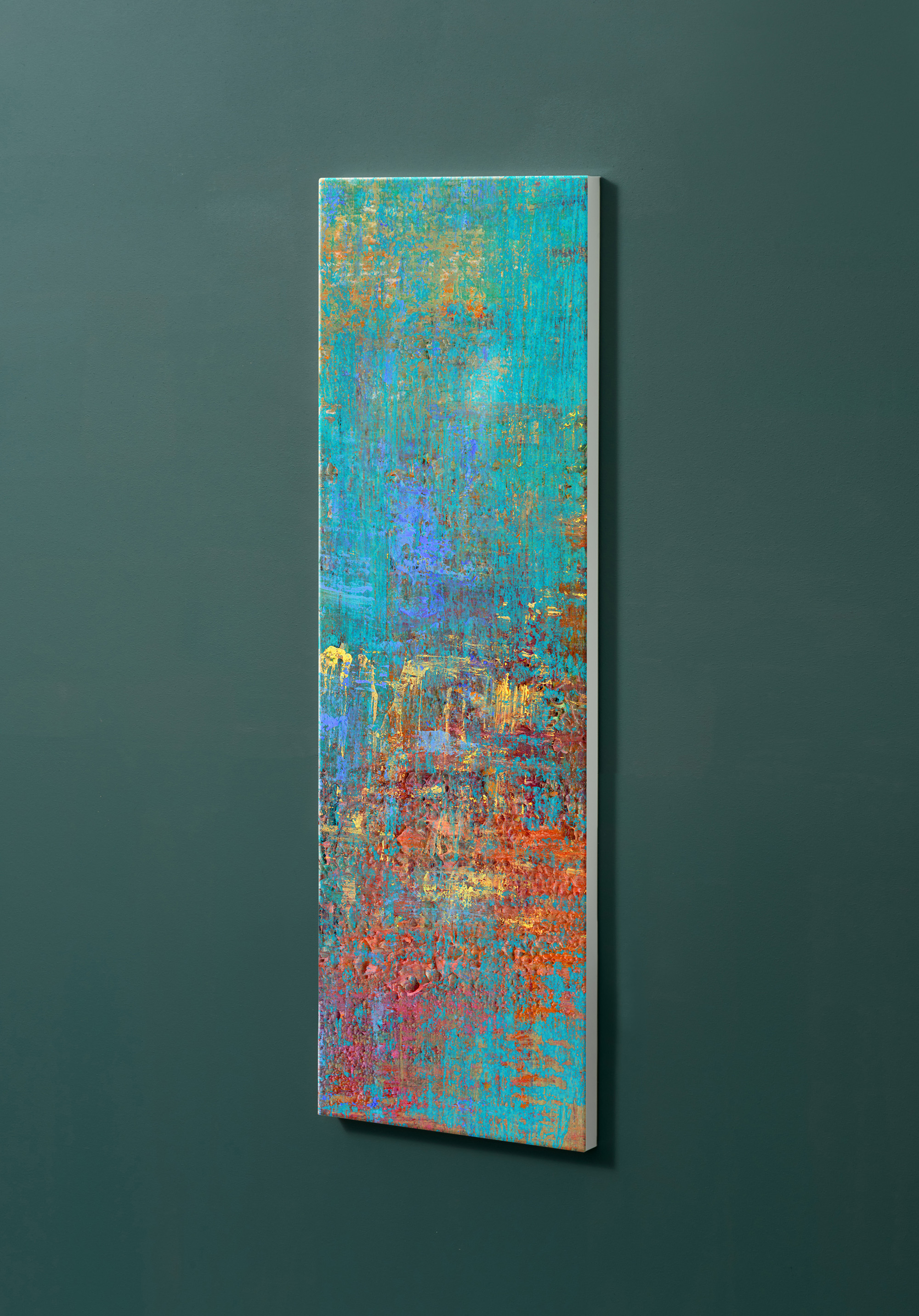 Magnettafel NOTIZ 30x90cm Motiv-Pinnwand M110 Abstrakt Kunst