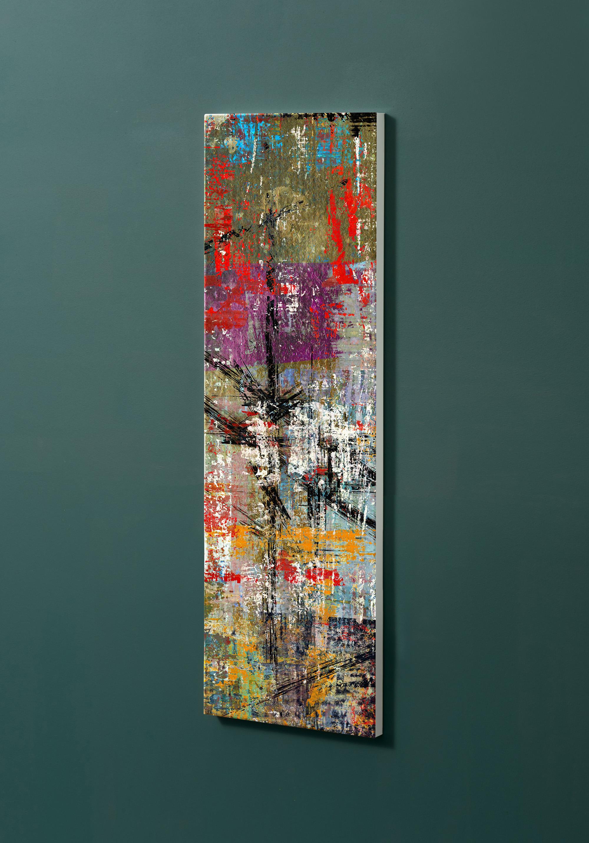 Magnettafel NOTIZ 30x90cm Motiv-Pinnwand M111 Abstrakt Kunst