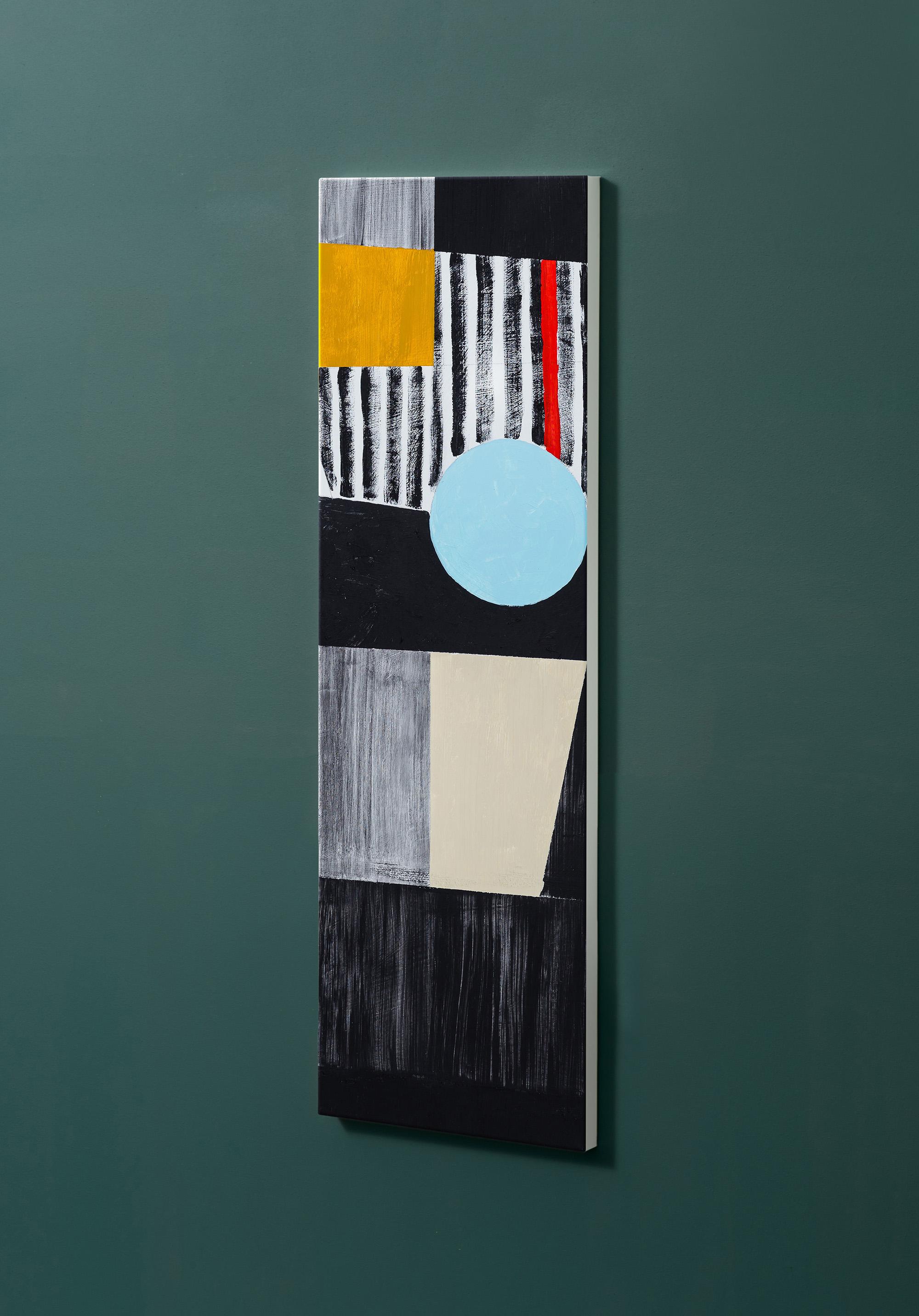 Magnettafel NOTIZ 30x90cm Motiv-Pinnwand M112 Kunst Modern