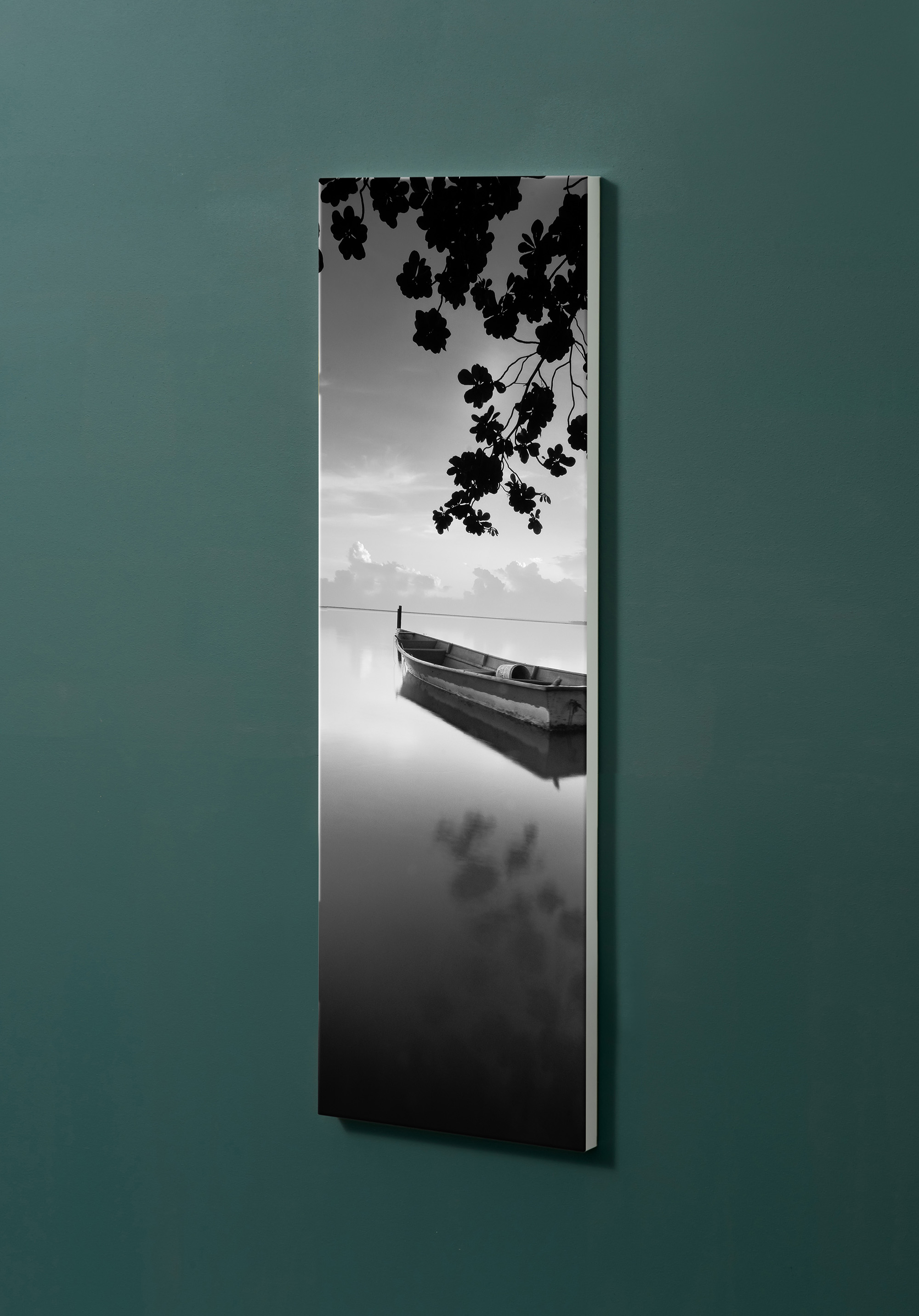 Magnettafel NOTIZ 30x90cm Motiv-Pinnwand M113 Fine Art See