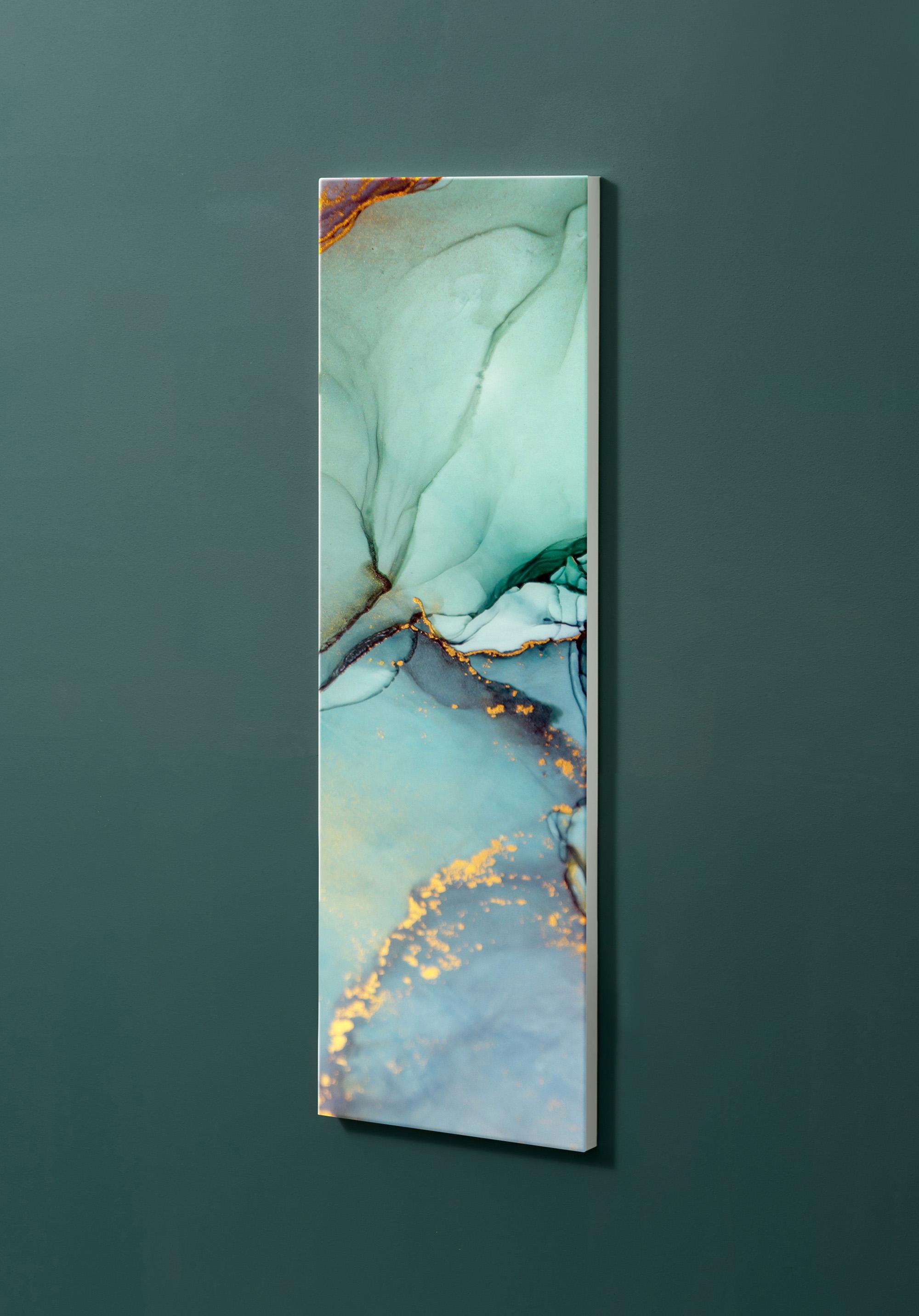 Magnettafel NOTIZ 30x90cm Motiv-Pinnwand M116 Kunst Modern