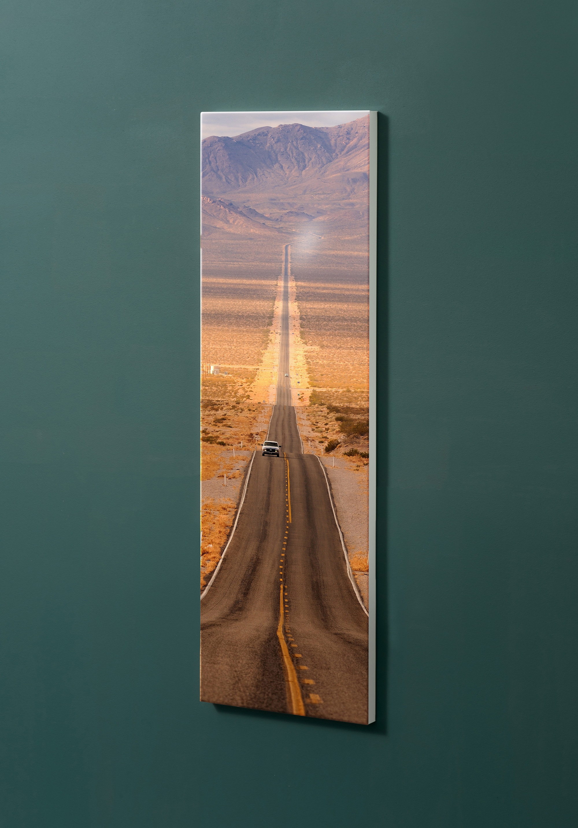 Magnettafel NOTIZ 30x90cm Motiv-Pinnwand M11 Route 66