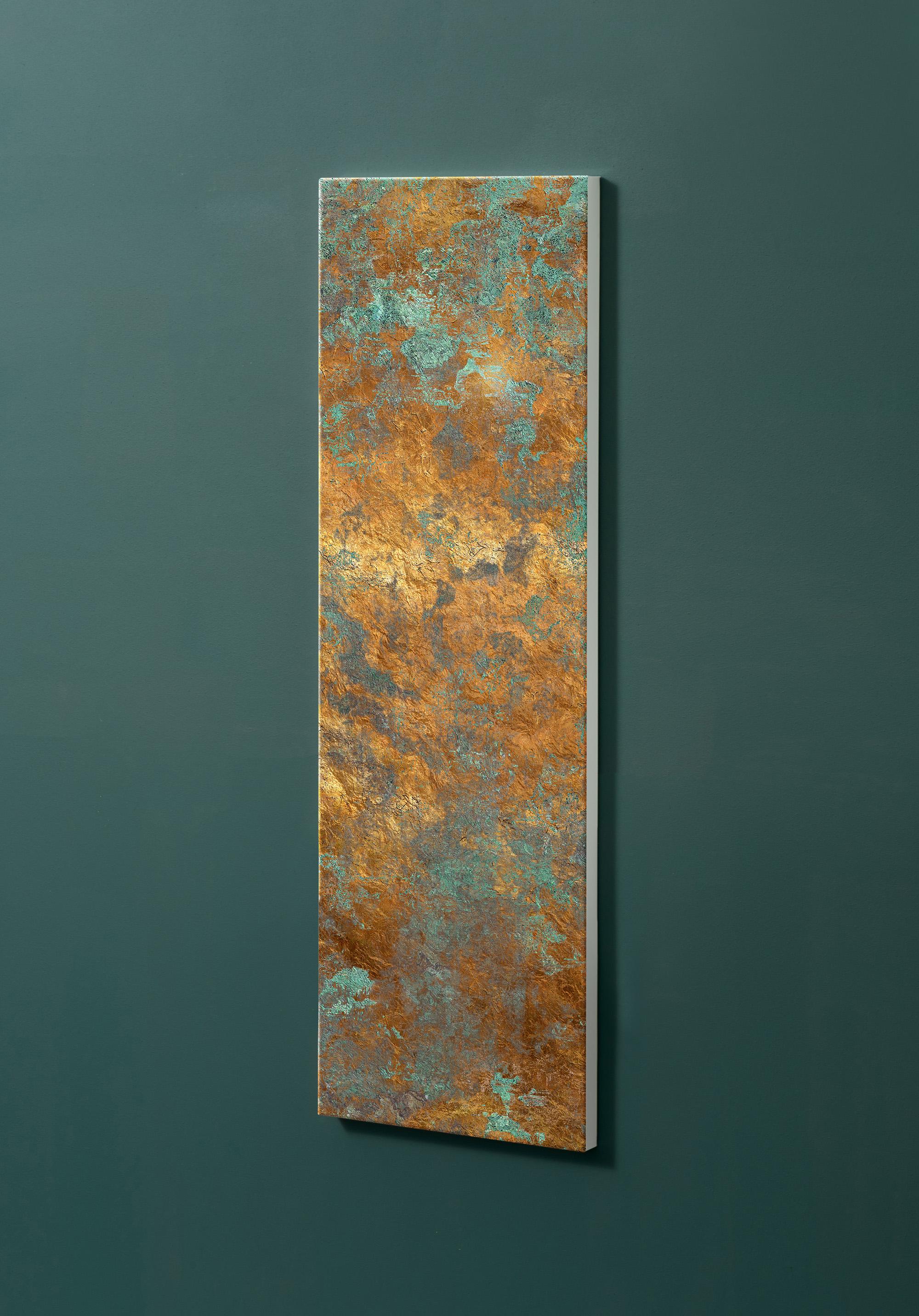 Magnettafel NOTIZ 30x90cm Motiv-Pinnwand M13 Kupfer