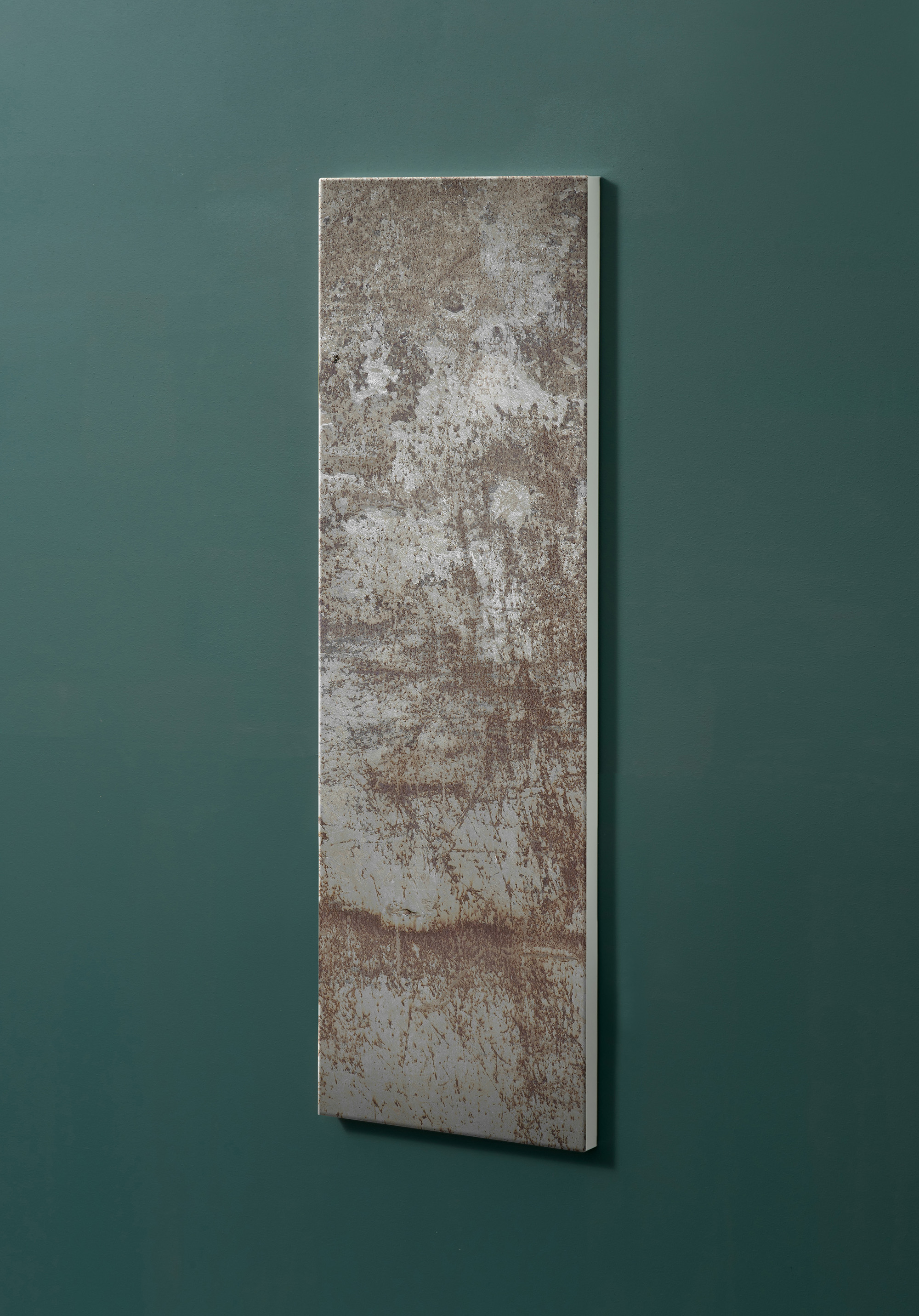 Magnettafel NOTIZ 30x90cm Motiv-Pinnwand M15 Rost