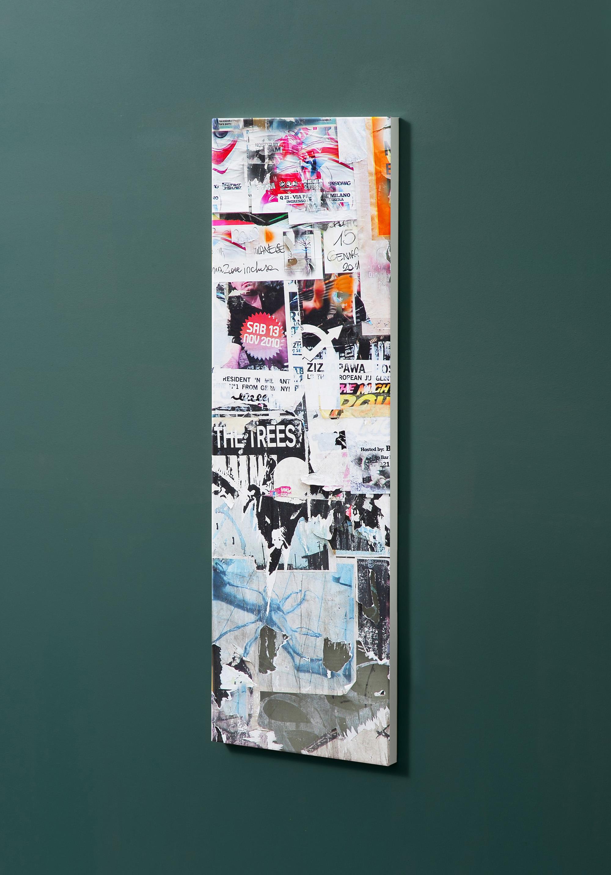 Magnettafel NOTIZ 30x90cm Motiv-Pinnwand M18 Plakate