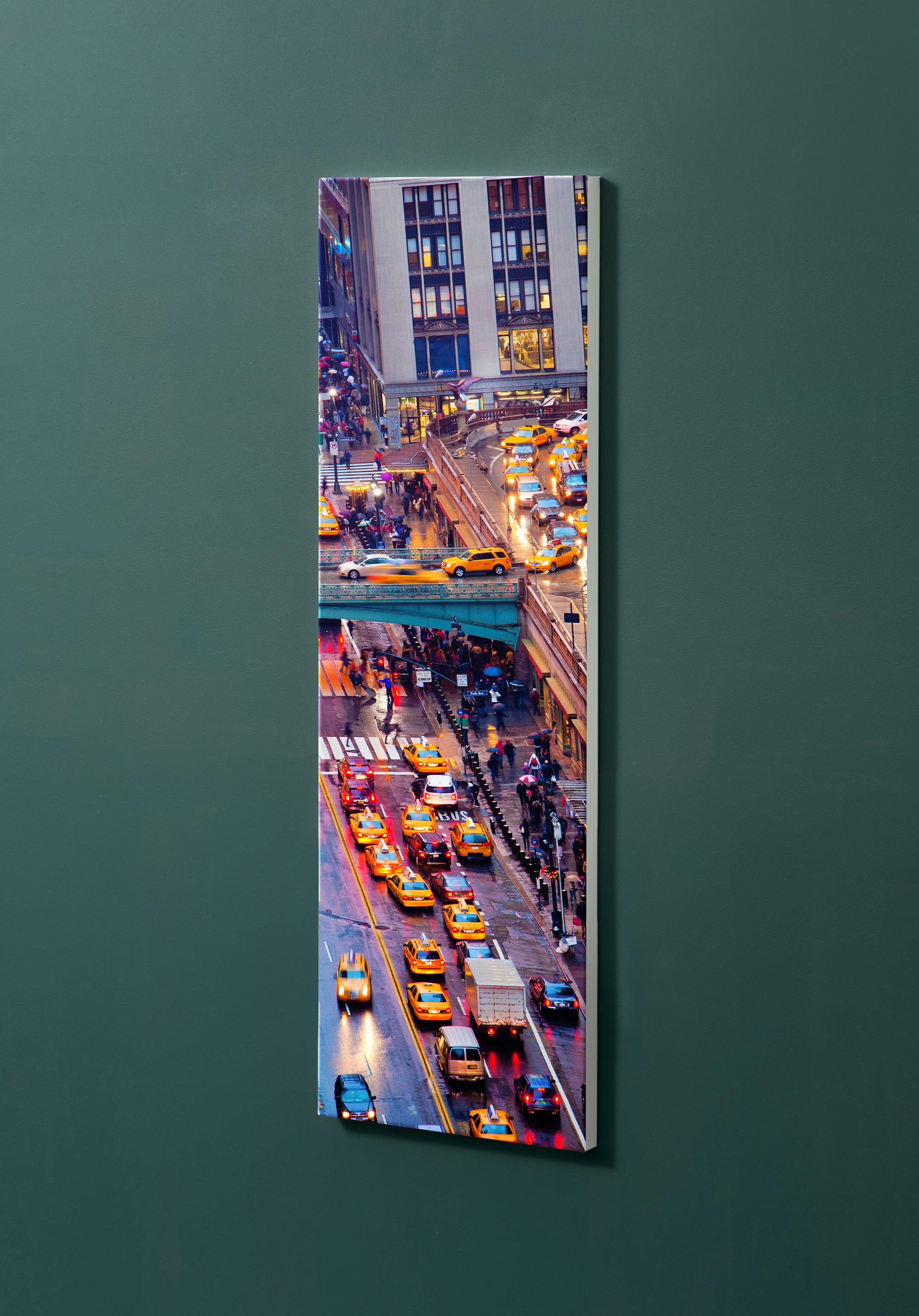 Magnettafel NOTIZ 30x90cm Motiv-Pinnwand M19 New York