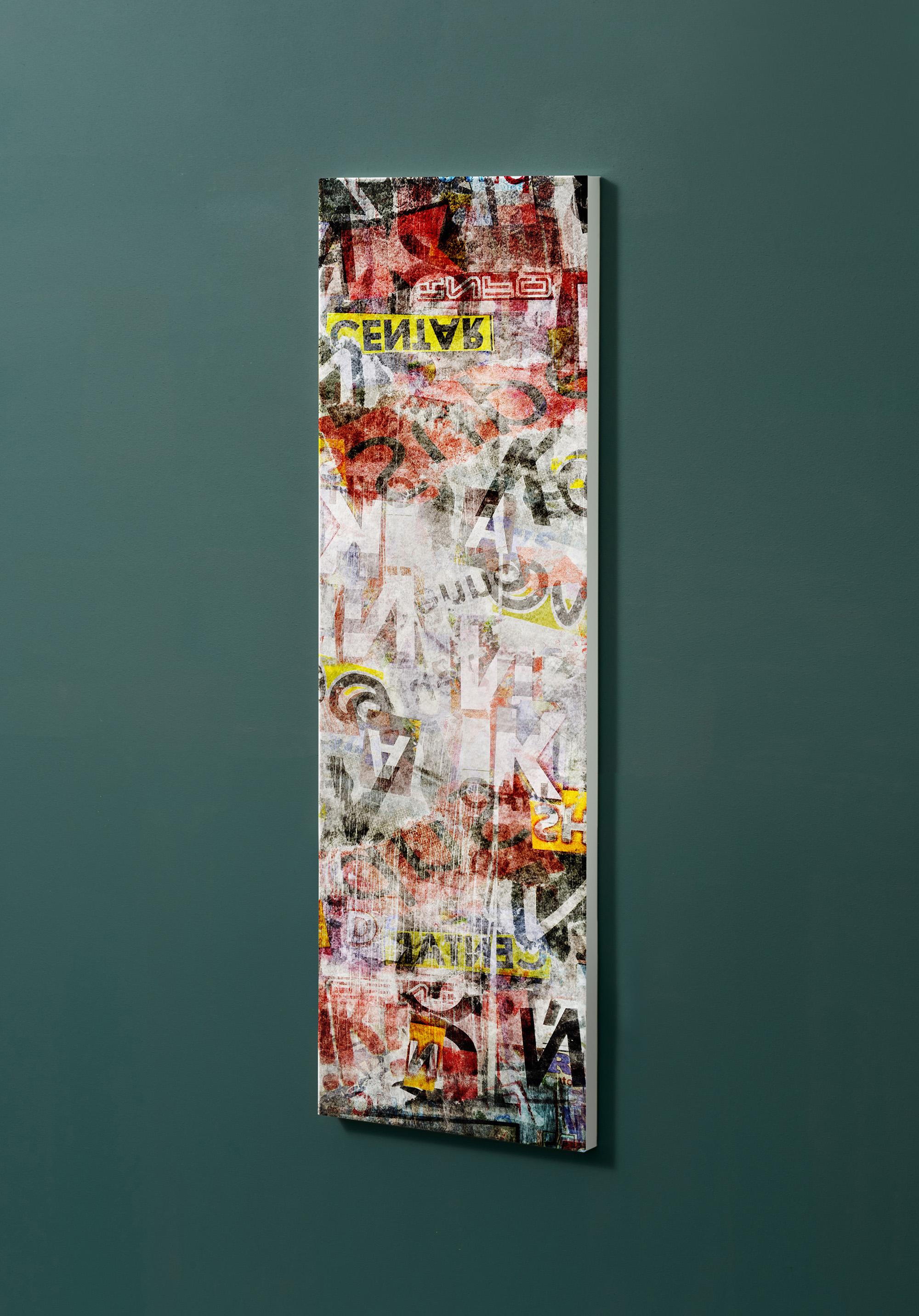 Magnettafel NOTIZ 30x90cm Motiv-Pinnwand M22 Plakate