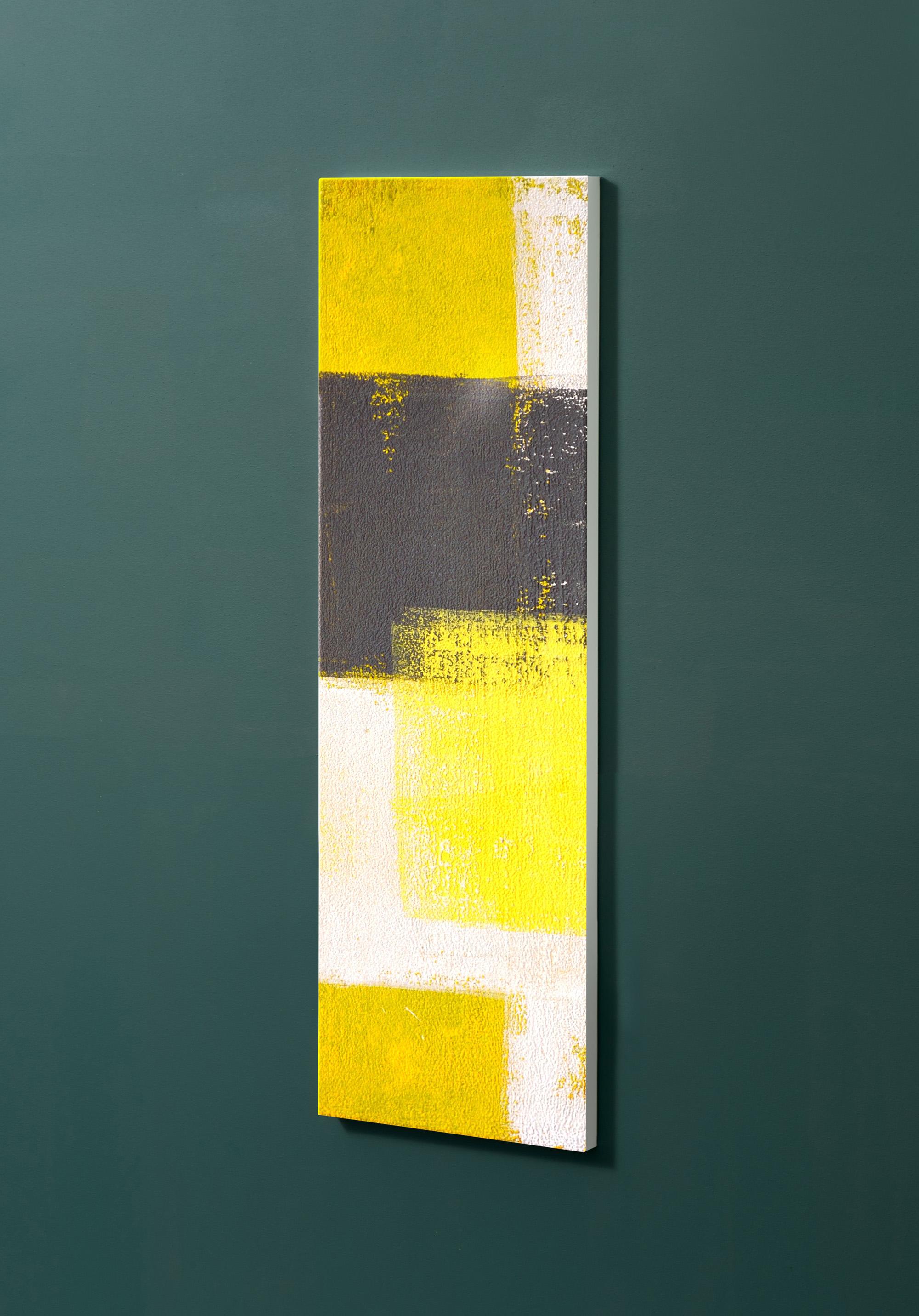 Magnettafel NOTIZ 30x90cm Motiv-Pinnwand M24 Abstrakt Kunst