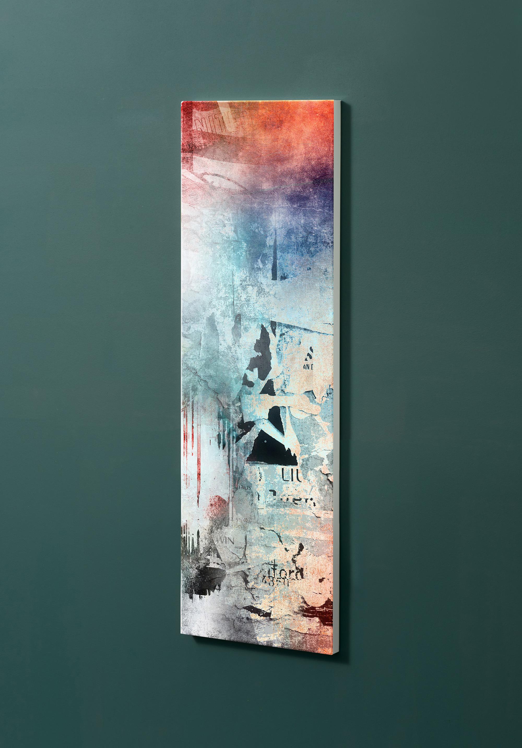 Magnettafel NOTIZ 30x90cm Motiv-Pinnwand M25 Abstrakt Kunst