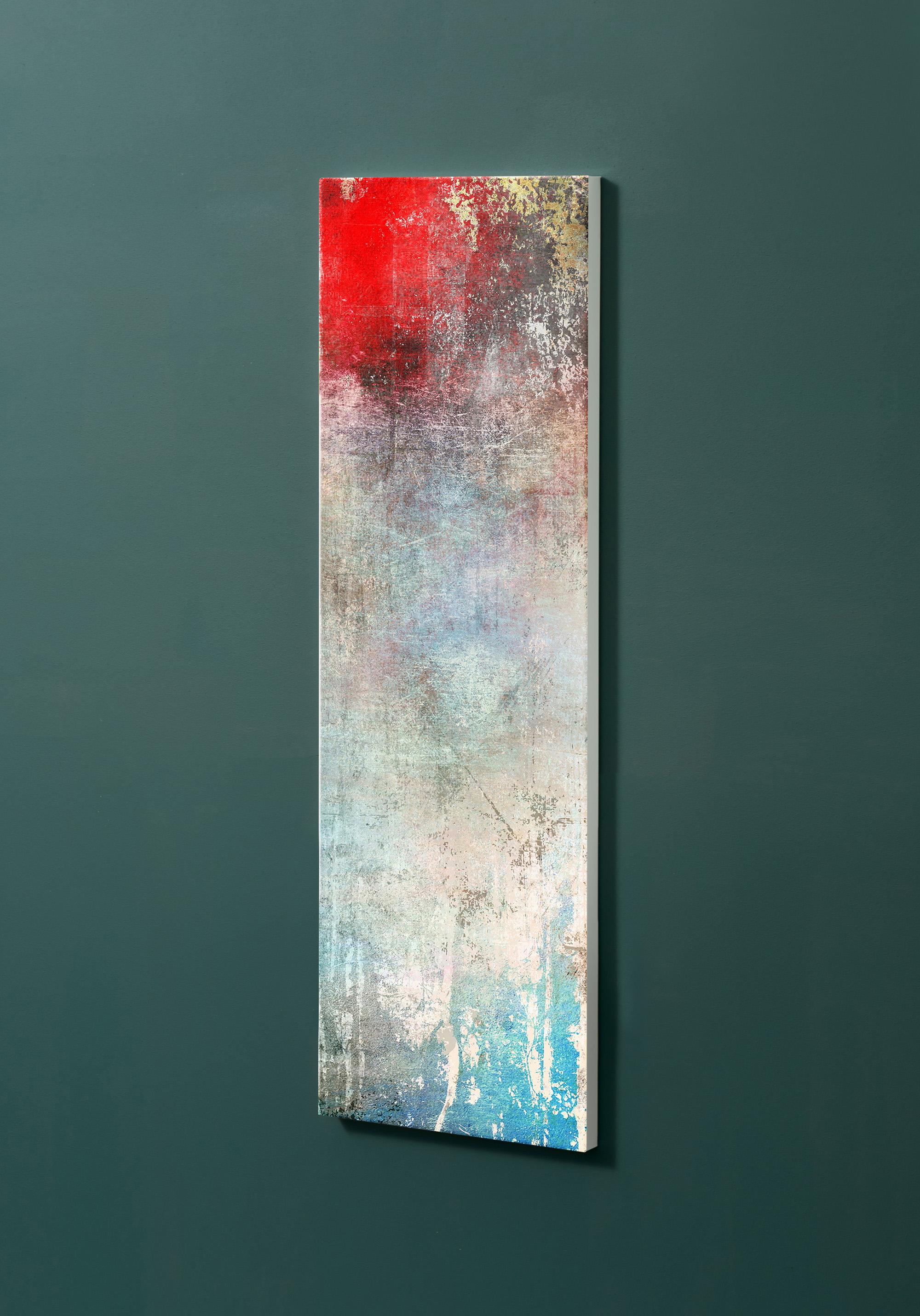 Magnettafel NOTIZ 30x90cm Motiv-Pinnwand M26 Abstrakt Kunst