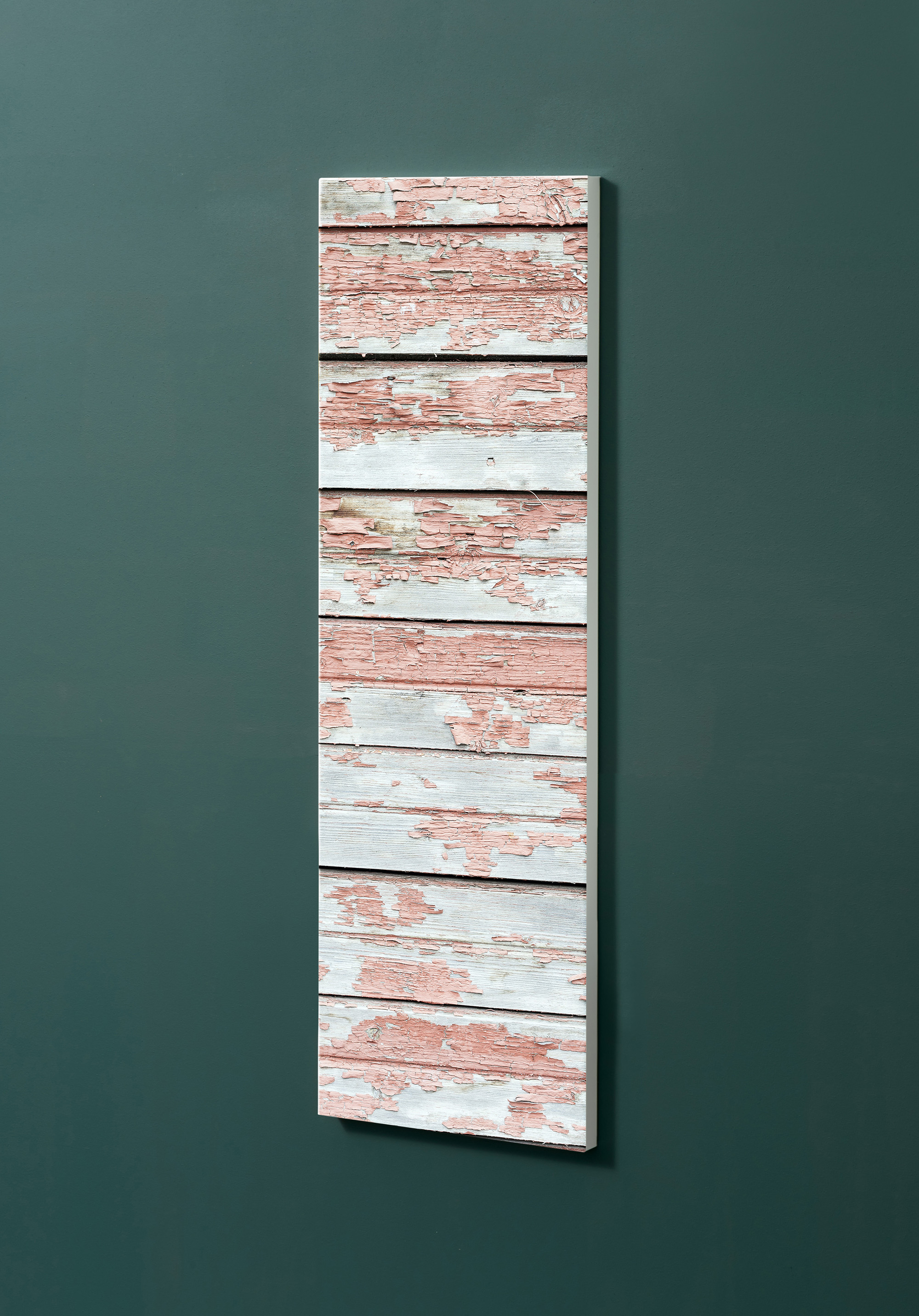 Magnettafel NOTIZ 30x90cm Motiv-Pinnwand M28 Holzbretter Vintage