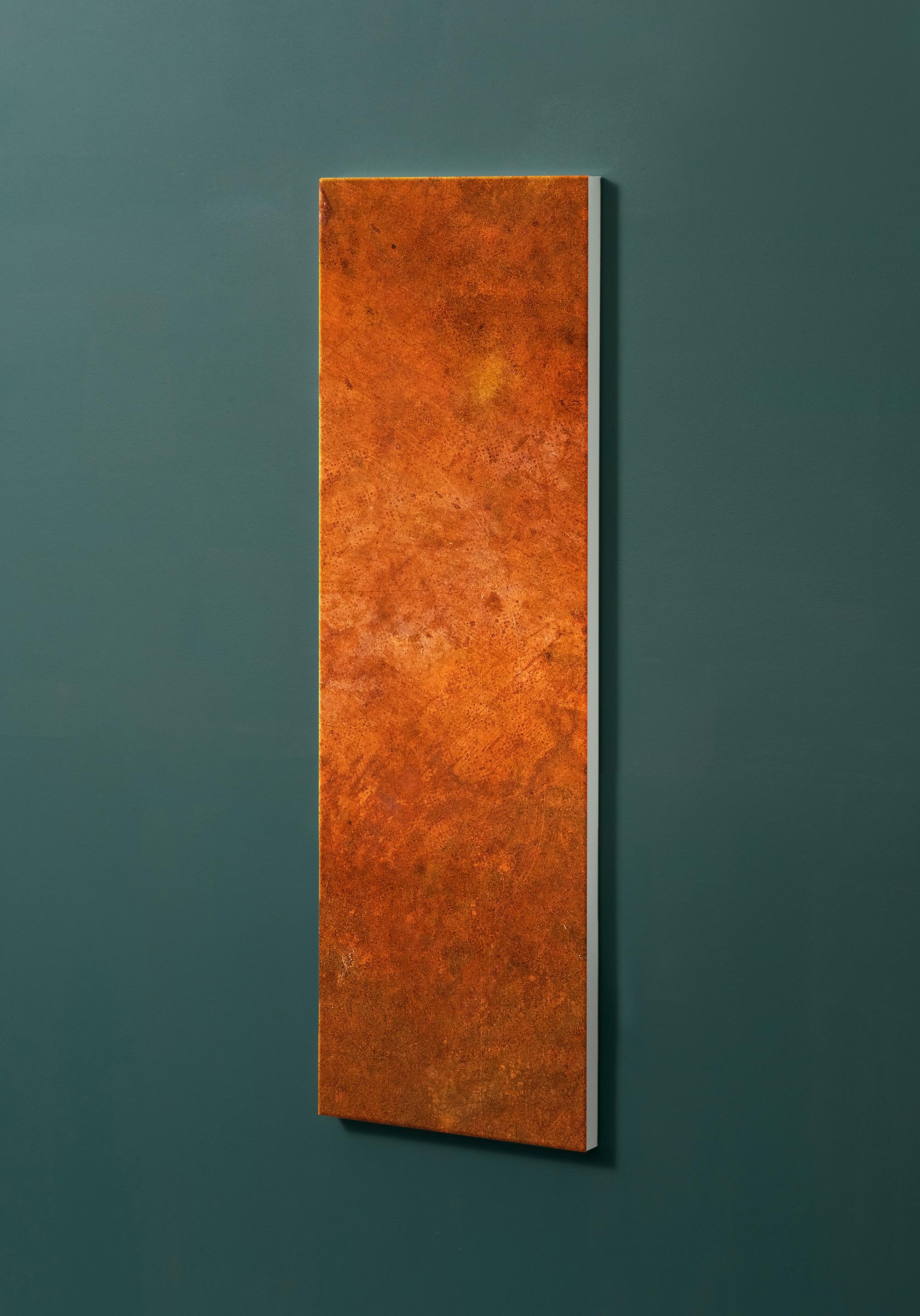 Magnettafel NOTIZ 30x90cm Motiv-Pinnwand M31 Rost