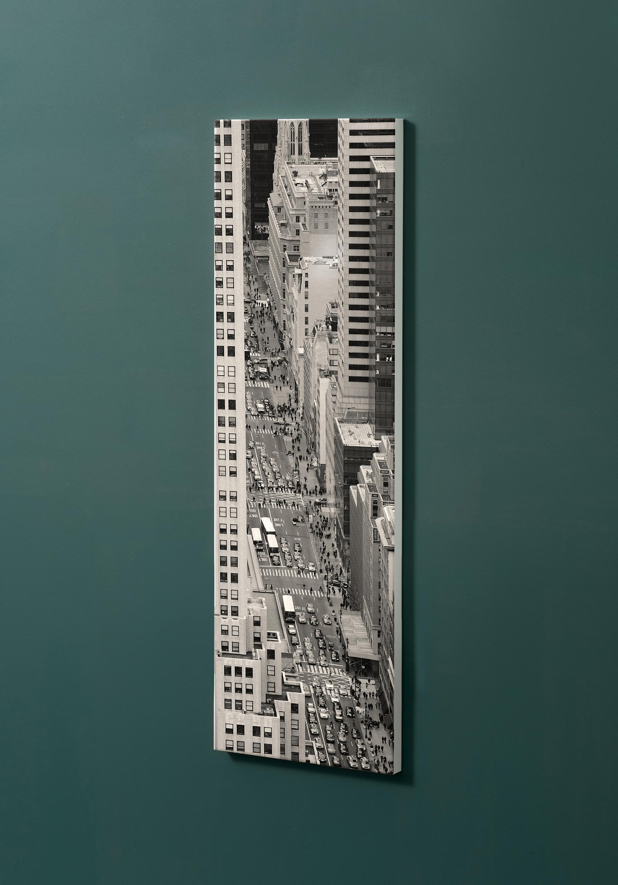 Magnettafel NOTIZ 30x90cm Motiv-Pinnwand M32 New York