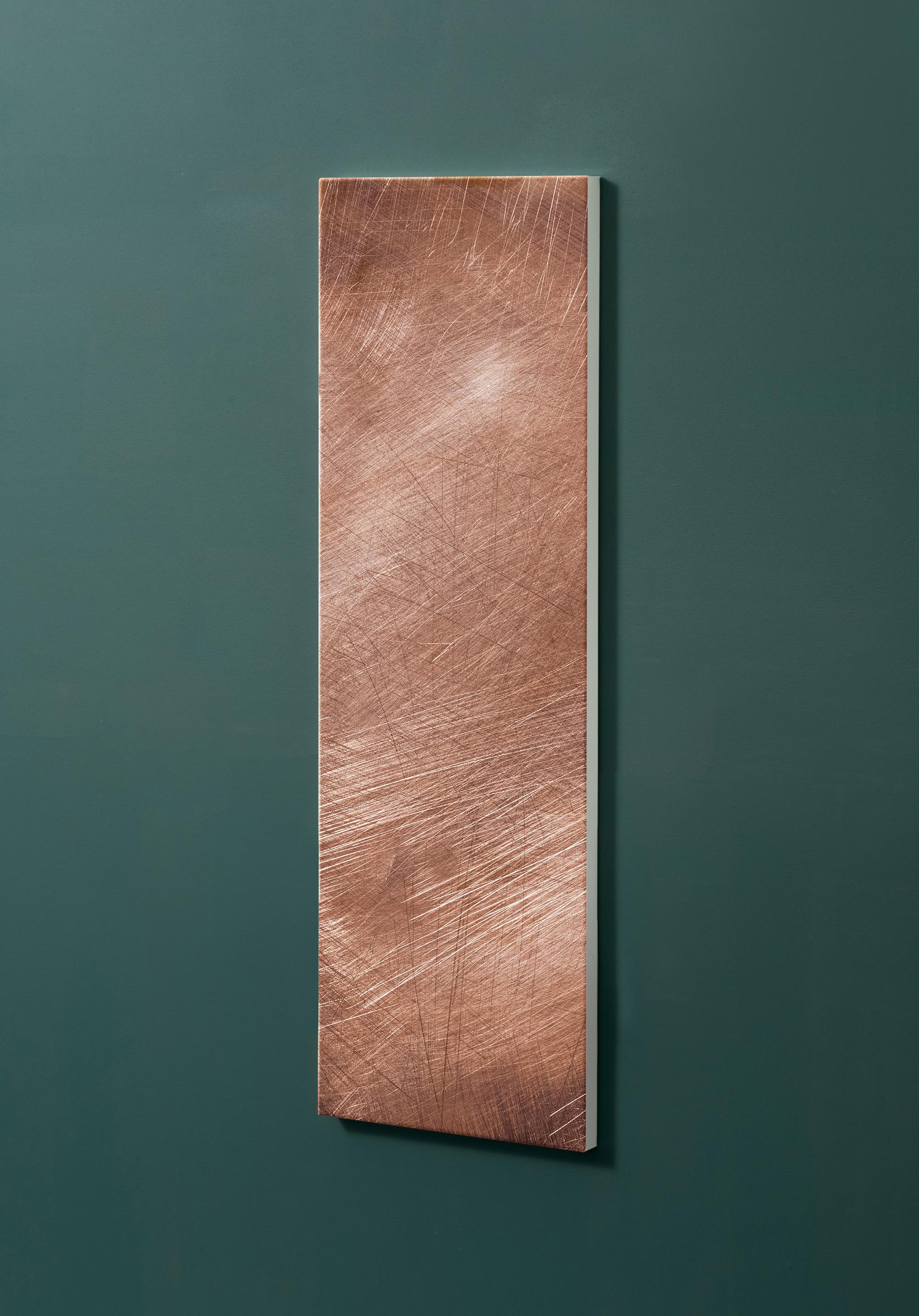 Magnettafel NOTIZ 30x90cm Motiv-Pinnwand M33 Rost