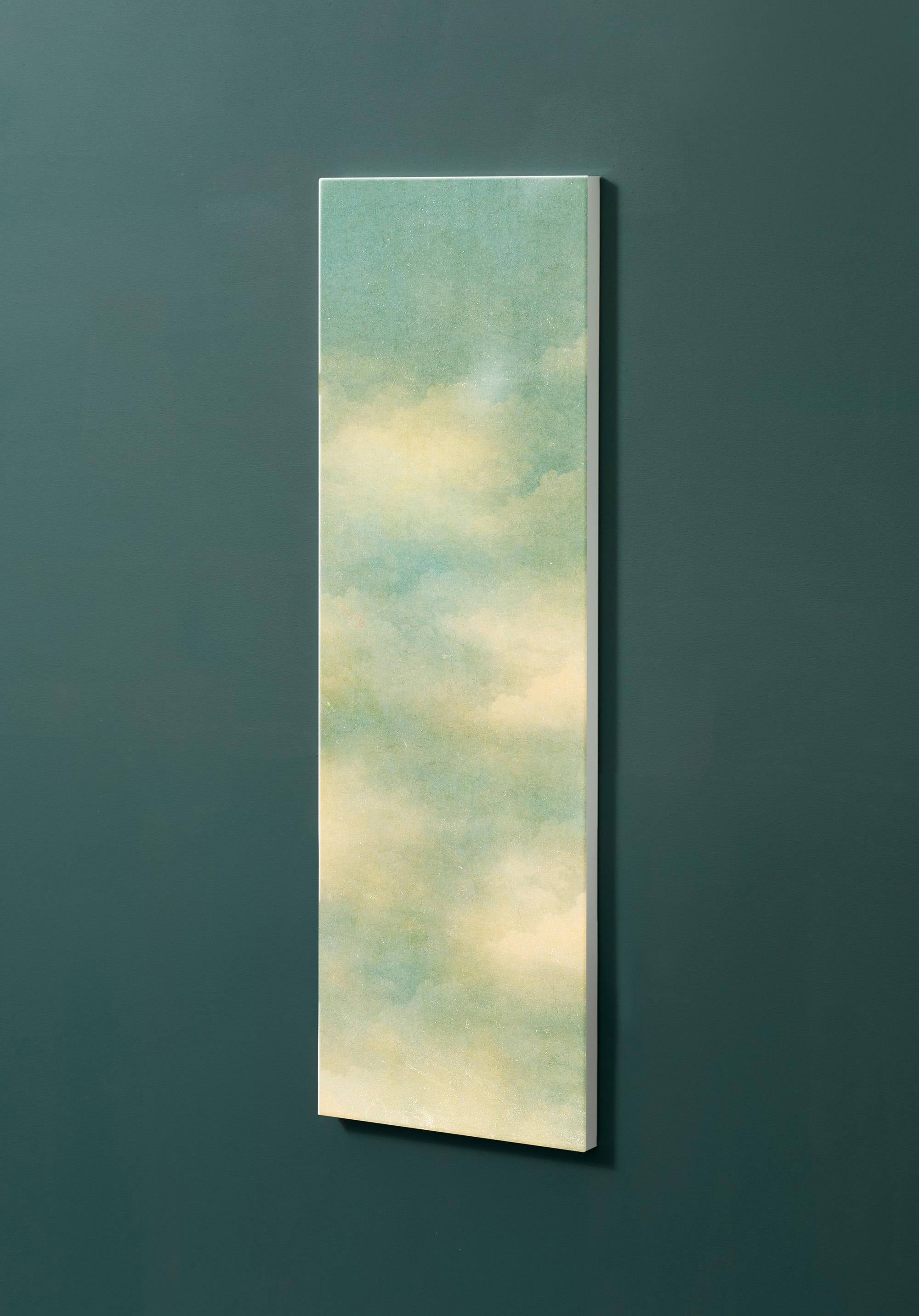 Magnettafel NOTIZ 30x90cm Motiv-Pinnwand M35 Wolken