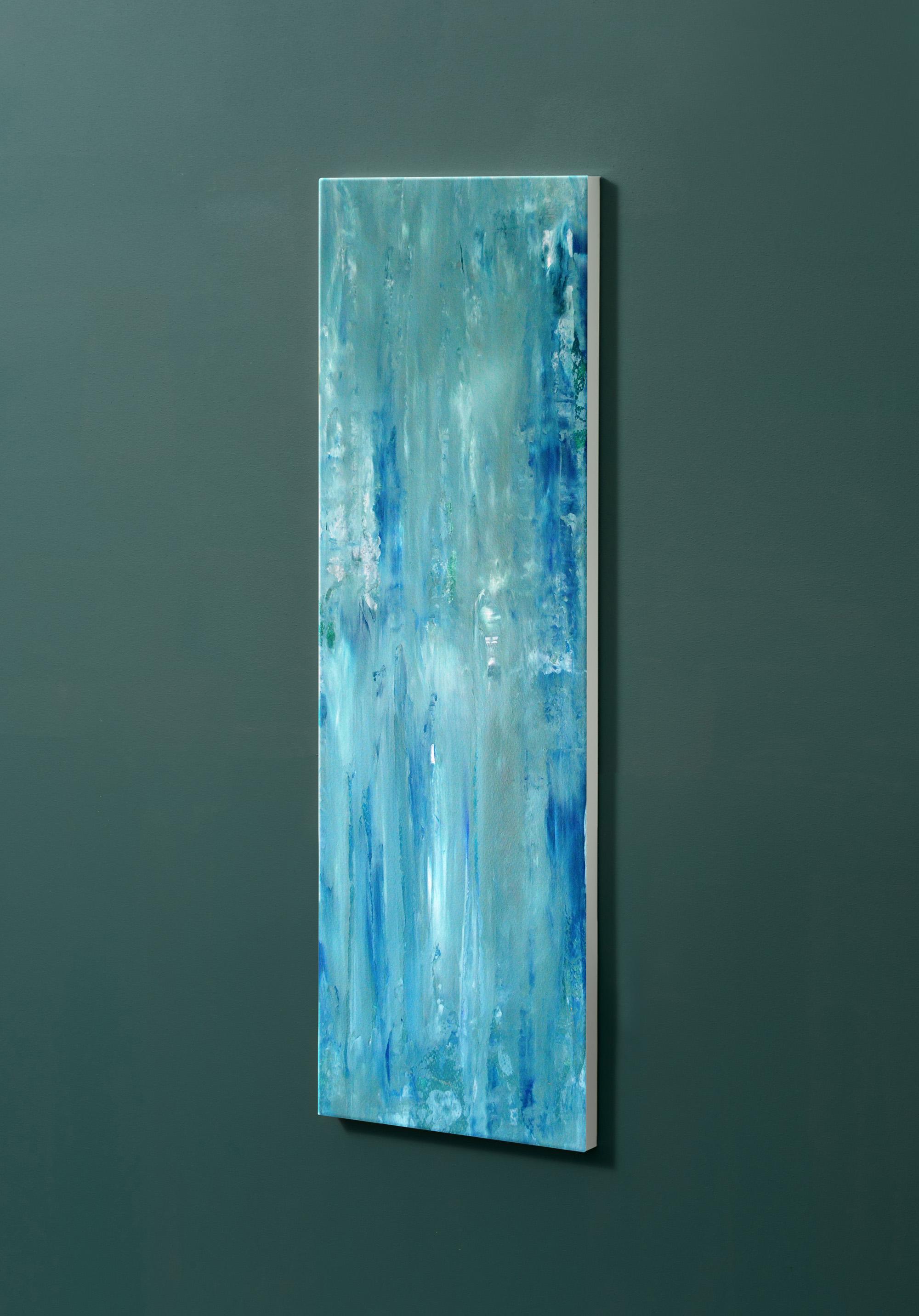 Magnettafel NOTIZ 30x90cm Motiv-Pinnwand M36 Abstrakt Kunst
