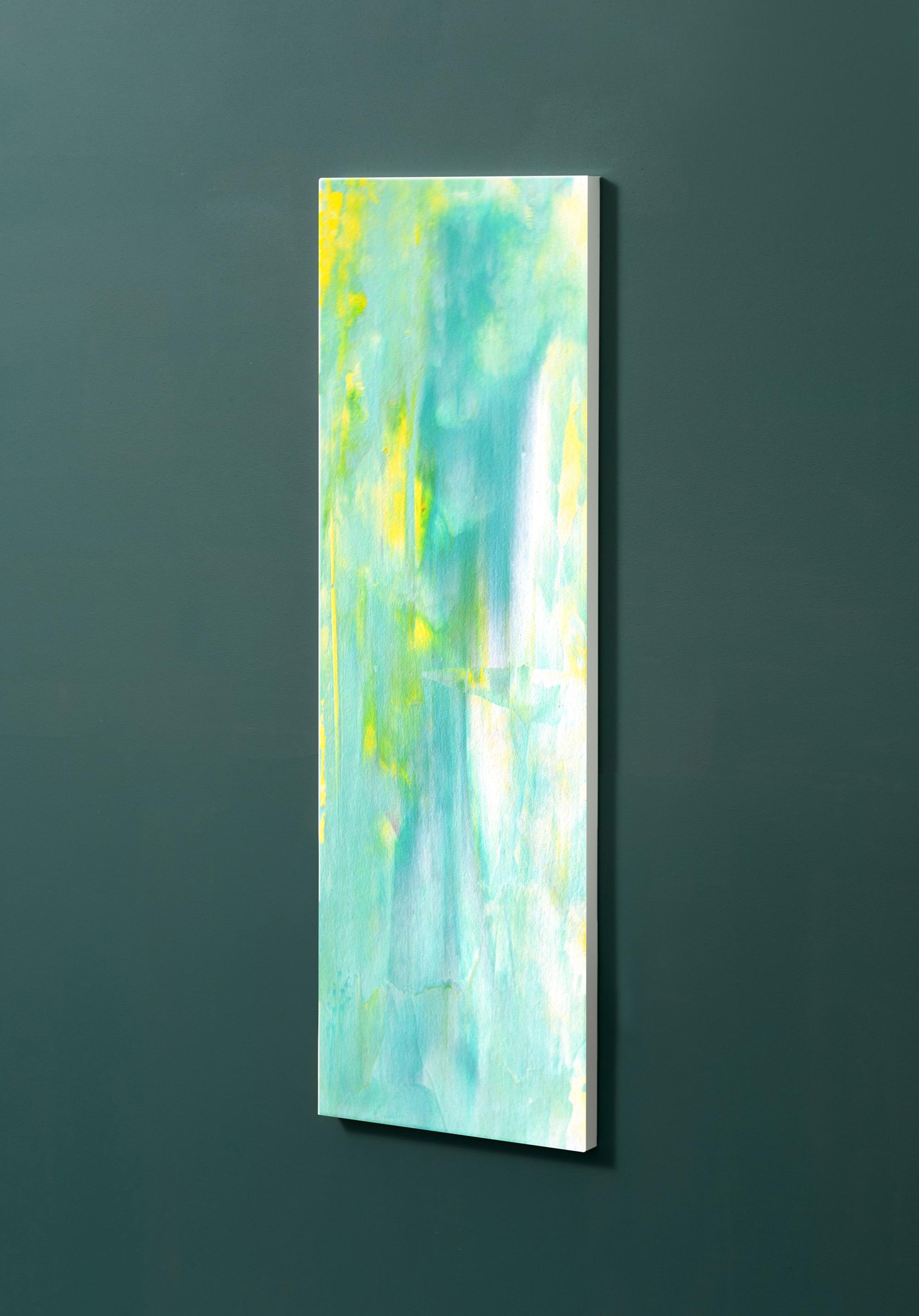 Magnettafel NOTIZ 30x90cm Motiv-Pinnwand M39 Abstrakt Kunst