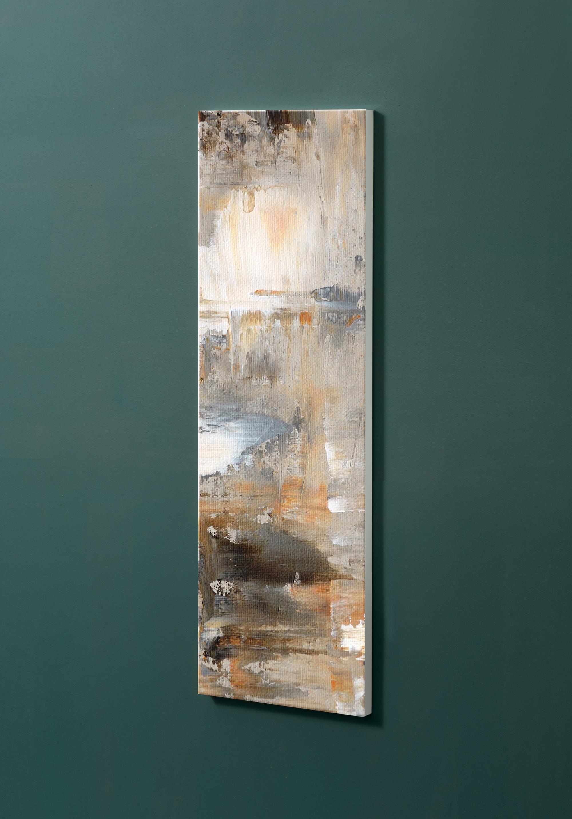 Magnettafel NOTIZ 30x90cm Motiv-Pinnwand M40 Abstrakt Kunst