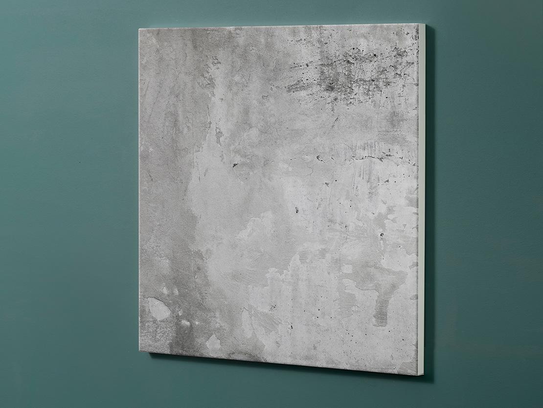 Magnettafel NOTIZ 60x60cm Motiv-Pinnwand M03 Beton