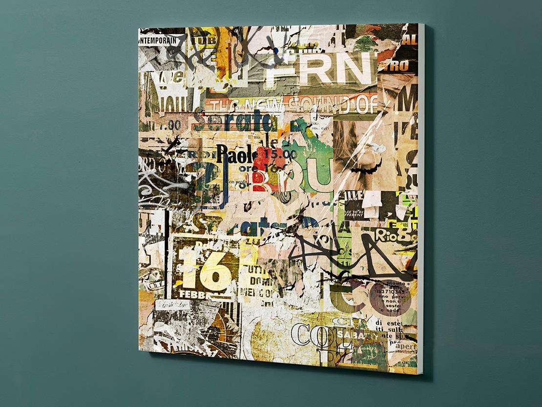 Magnettafel NOTIZ 60x60cm Motiv-Pinnwand M07 Plakate