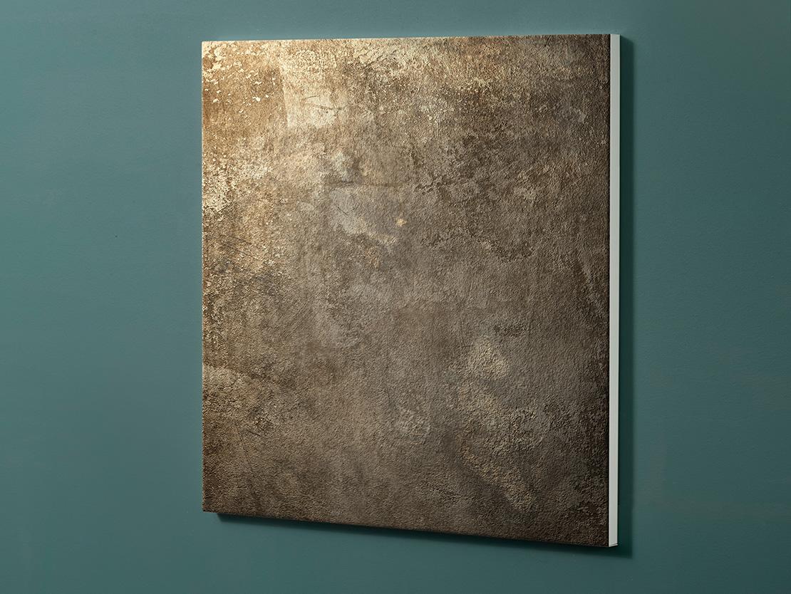 Magnettafel NOTIZ 60x60cm Motiv-Pinnwand M107 Metall