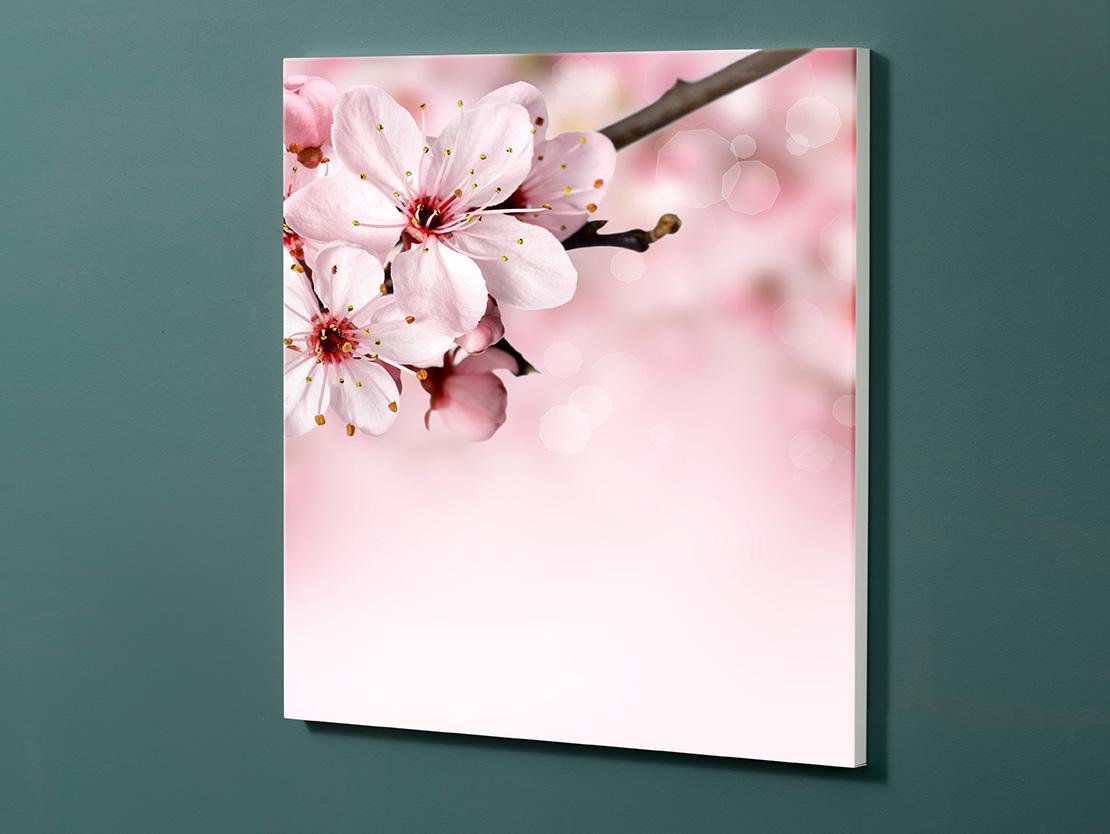 Magnettafel NOTIZ 60x60cm Motiv-Pinnwand M121 Blüten