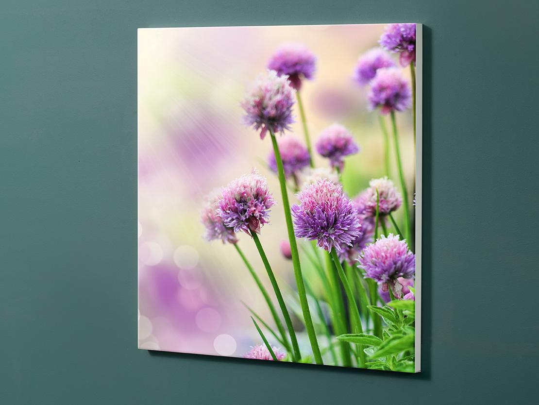 Magnettafel NOTIZ 60x60cm Motiv-Pinnwand M13 Blumen