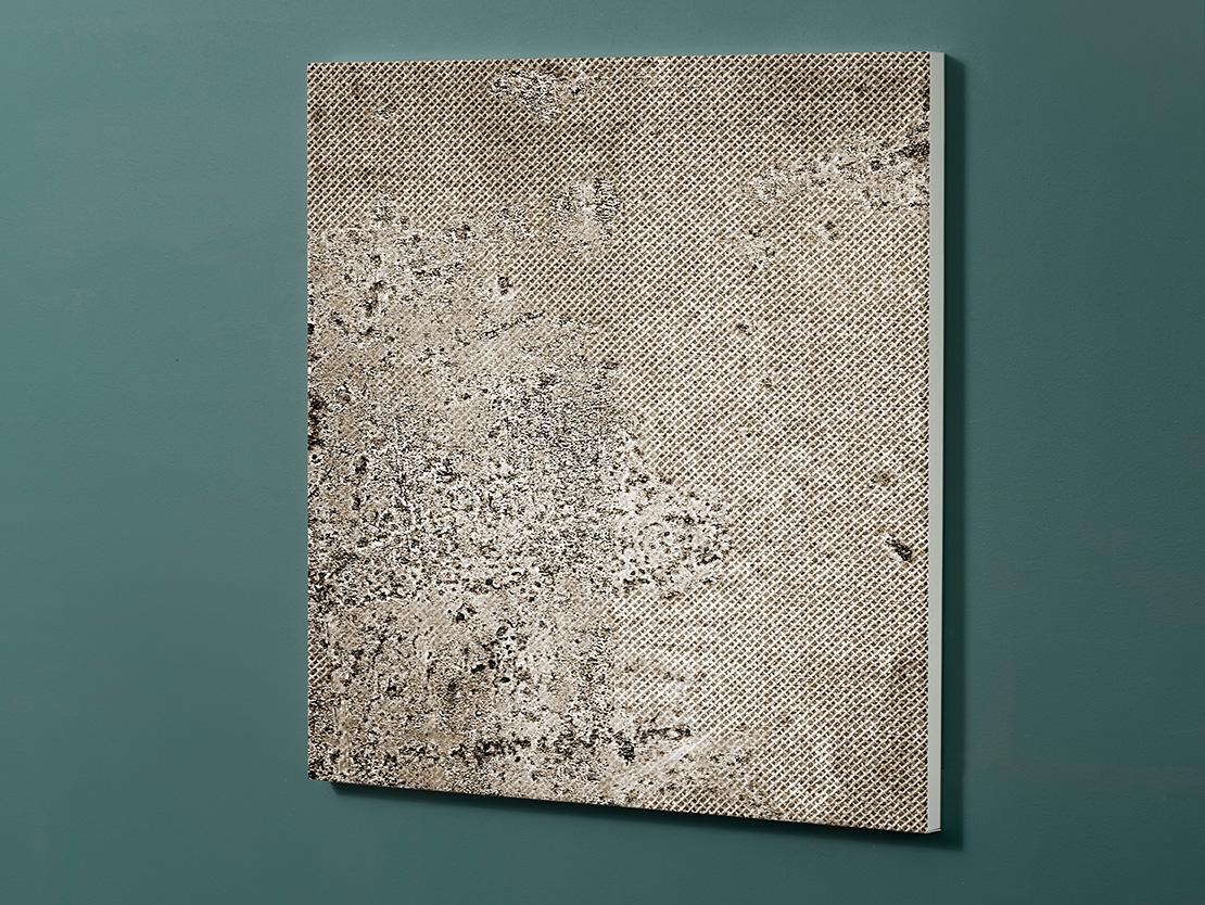 Magnettafel NOTIZ 60x60cm Motiv-Pinnwand M153 Beton
