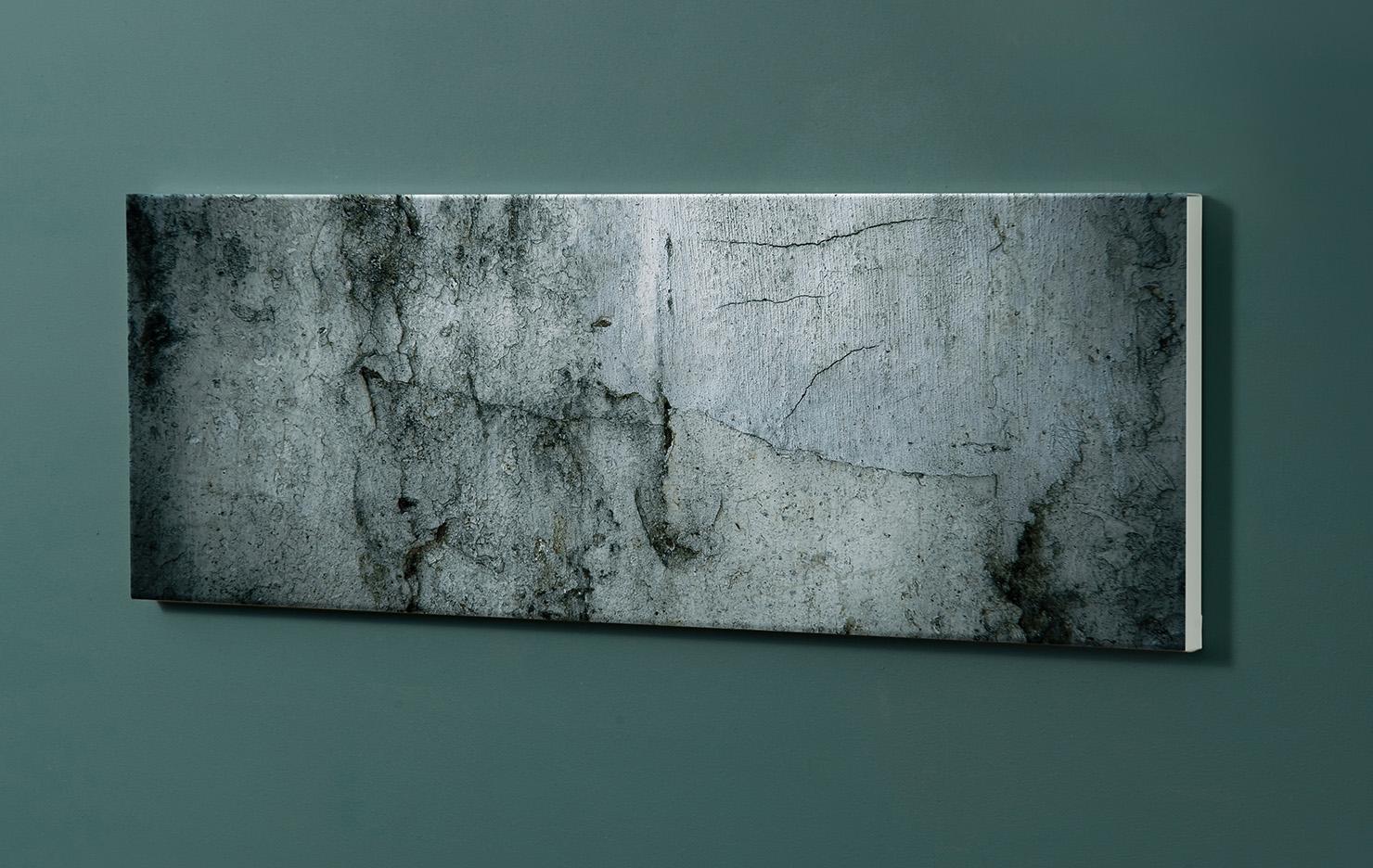 Magnettafel NOTIZ 90x30cm Motiv-Pinnwand M03 Beton