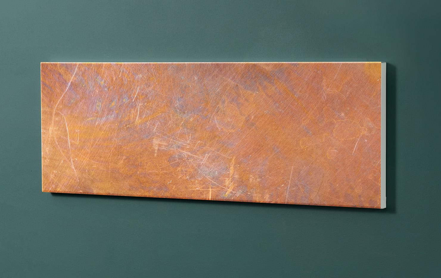 Magnettafel NOTIZ 90x30cm Motiv-Pinnwand M08 Rost