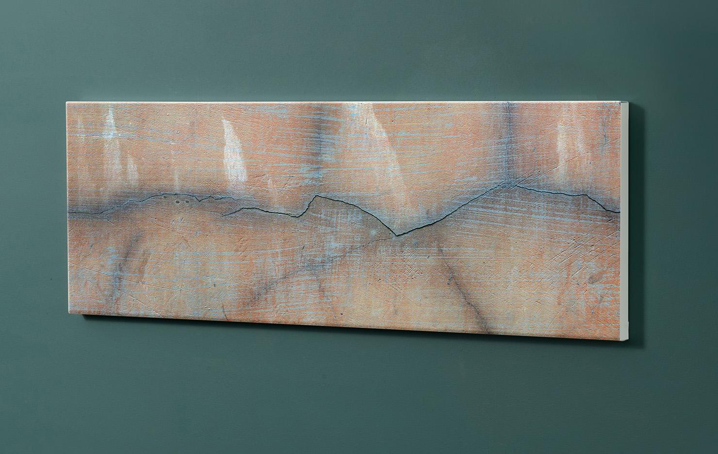 Magnettafel NOTIZ 90x30cm Motiv-Pinnwand M104 Mamor