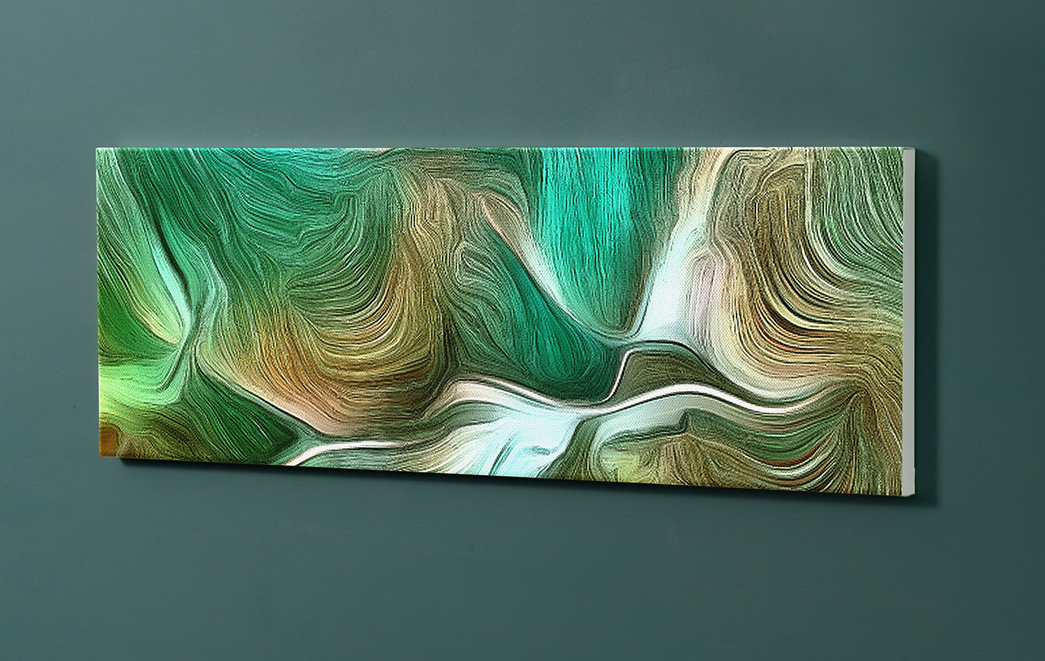 Magnettafel NOTIZ 90x30cm Motiv-Pinnwand M106 Abstrakt Kunst