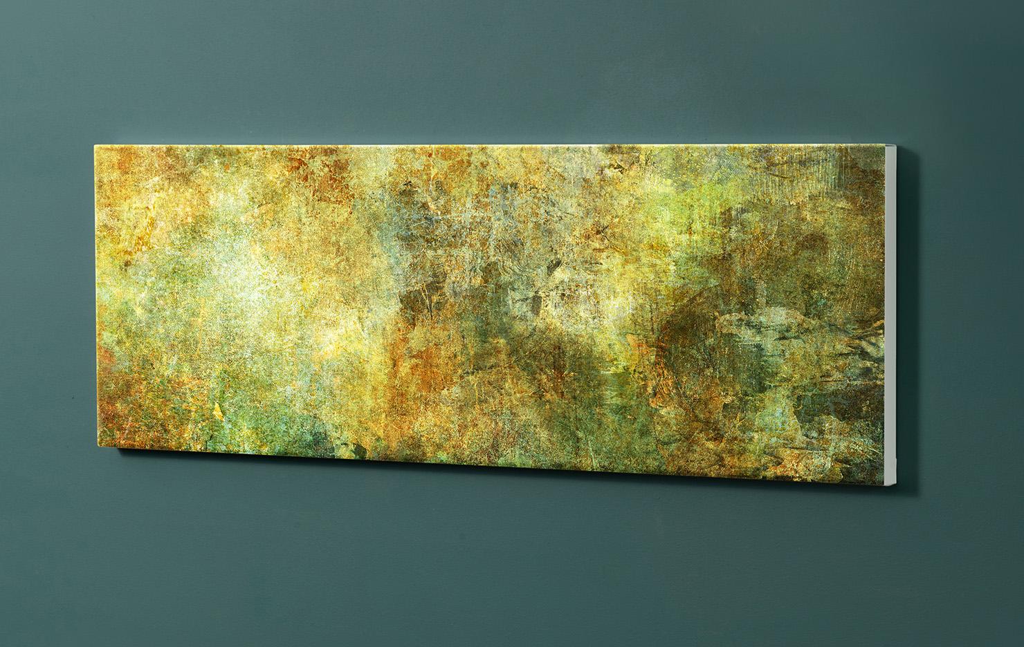 Magnettafel NOTIZ 90x30cm Motiv-Pinnwand M110 Abstrakt Kunst