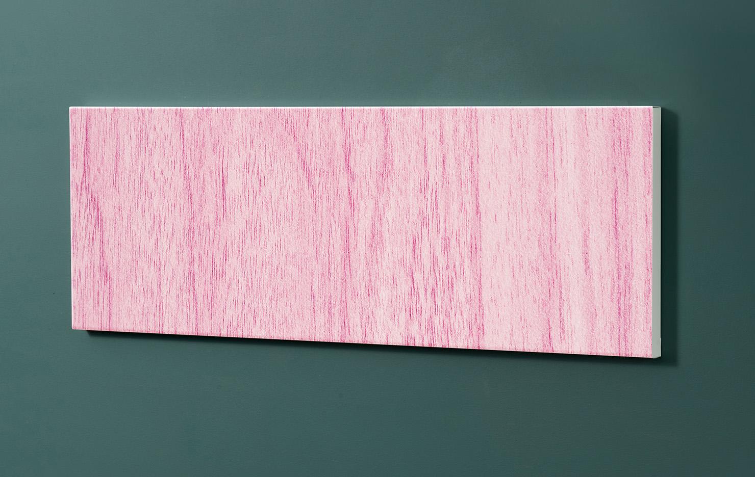 Magnettafel NOTIZ 90x30cm Motiv-Pinnwand M117 Holzbretter Lila