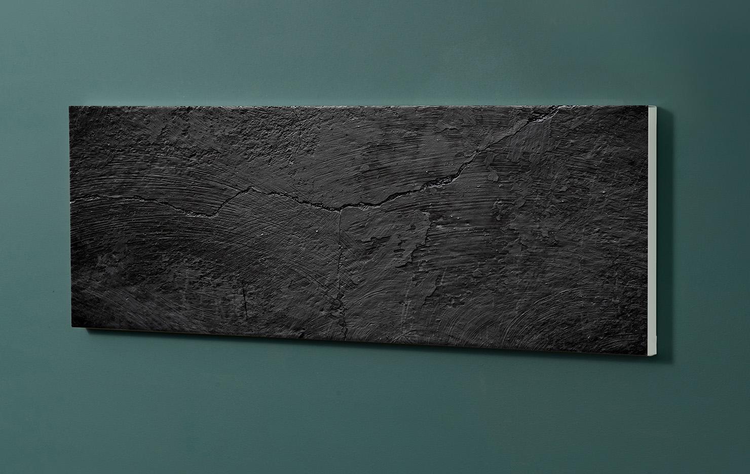 Magnettafel NOTIZ 90x30cm Motiv-Pinnwand M121 Schiefer