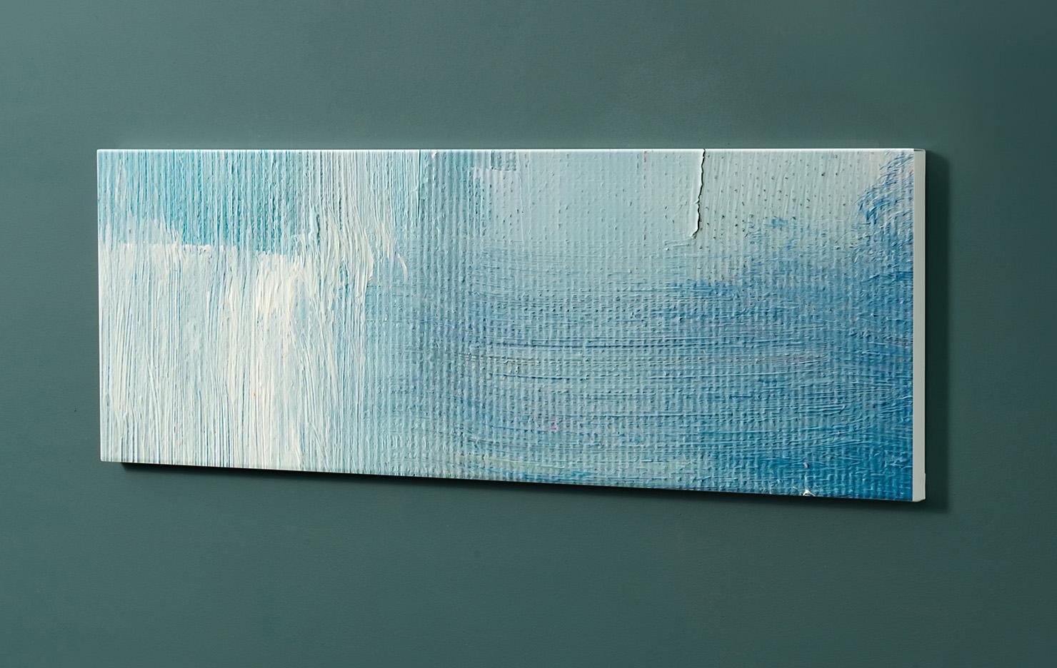 Magnettafel NOTIZ 90x30cm Motiv-Pinnwand M122 Abstrakt Kunst