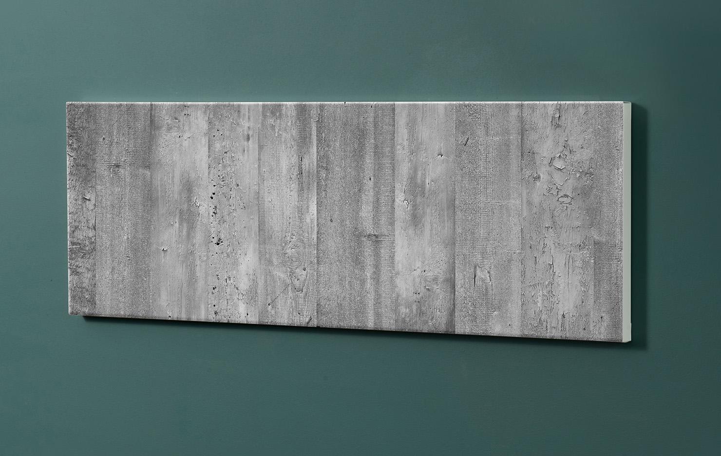 Magnettafel NOTIZ 90x30cm Motiv-Pinnwand M127 Beton