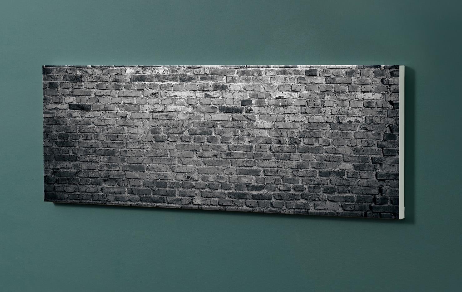Magnettafel NOTIZ 90x30cm Motiv-Pinnwand M128 Häuserwand