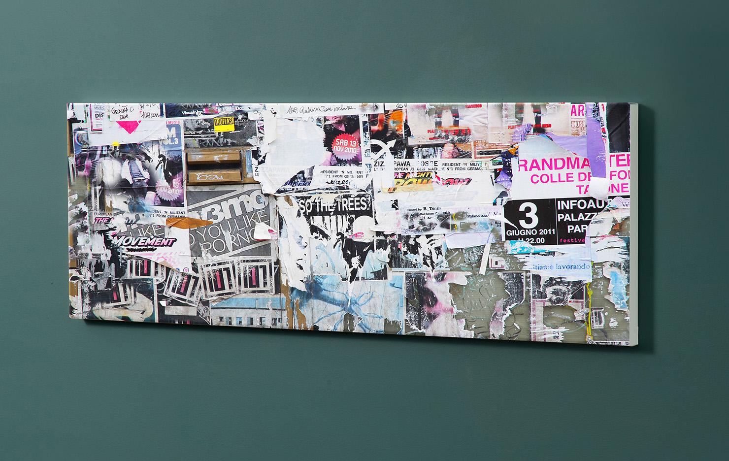 Magnettafel NOTIZ 90x30cm Motiv-Pinnwand M12 Plakate