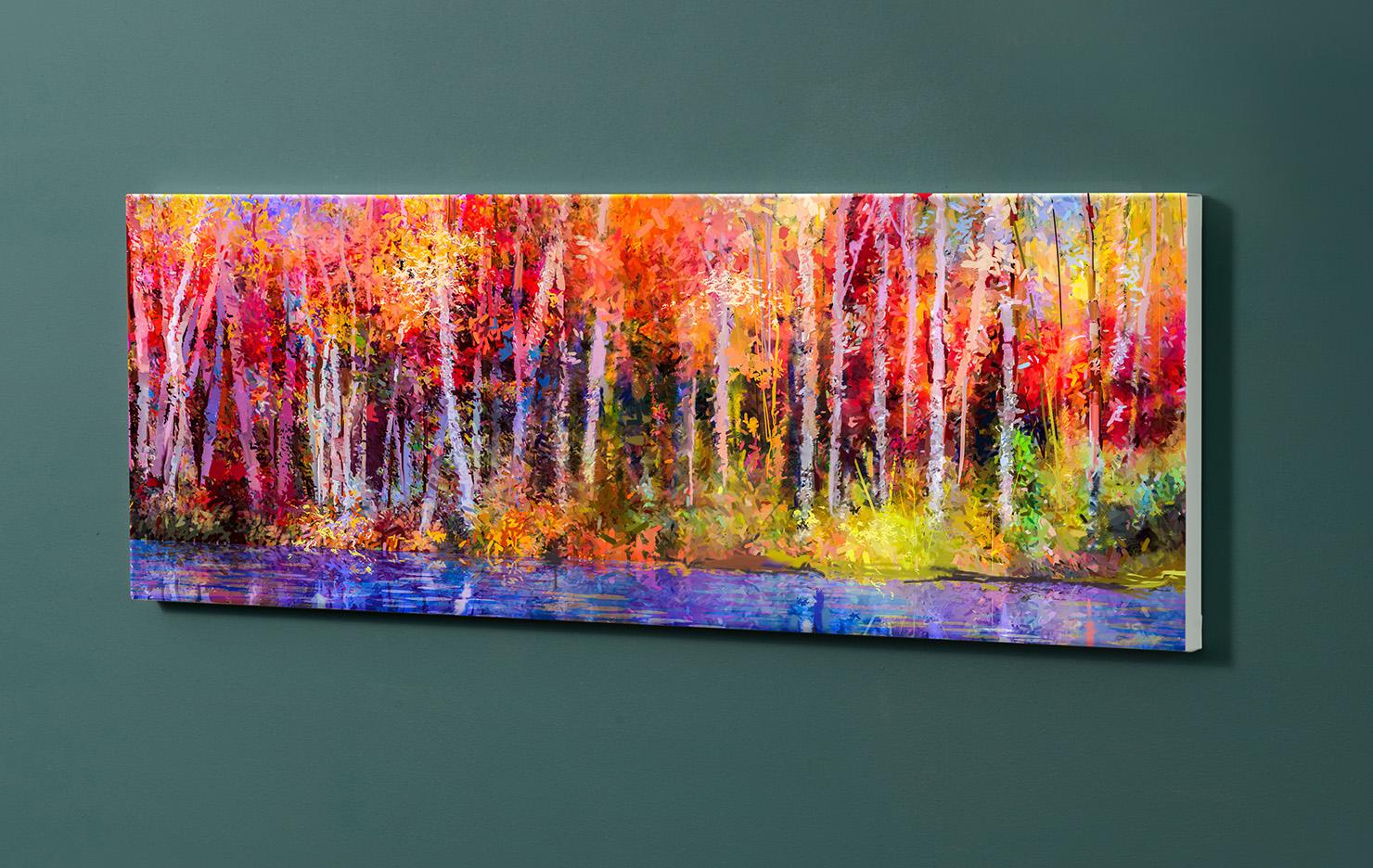 Magnettafel NOTIZ 90x30cm Motiv-Pinnwand M133 Kunst Gemälde