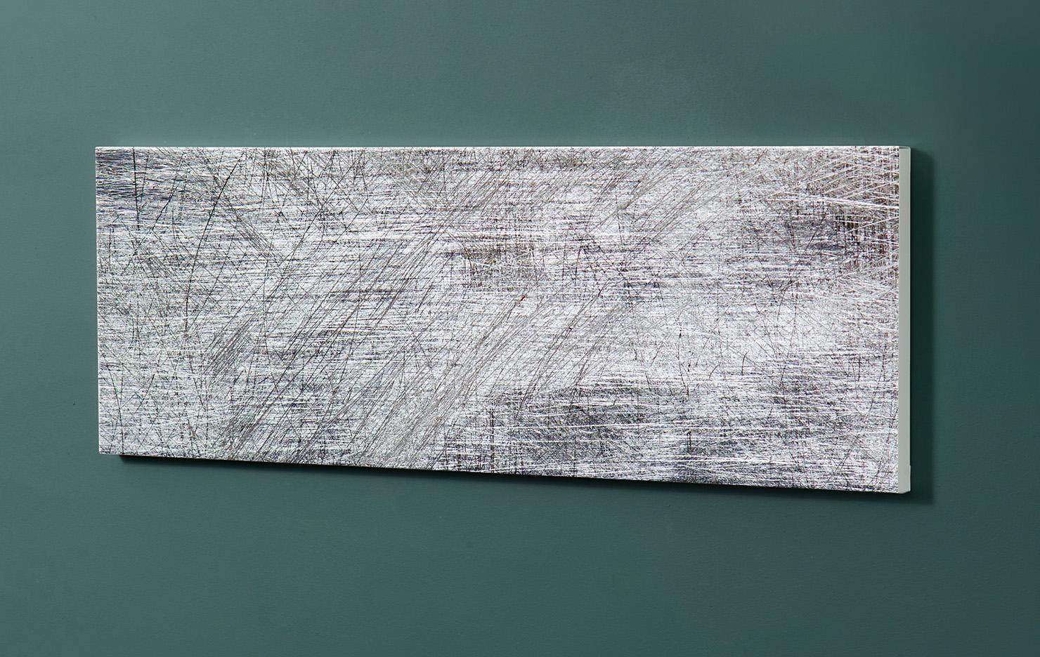 Magnettafel NOTIZ 90x30cm Motiv-Pinnwand M134 Abstrakt Kunst