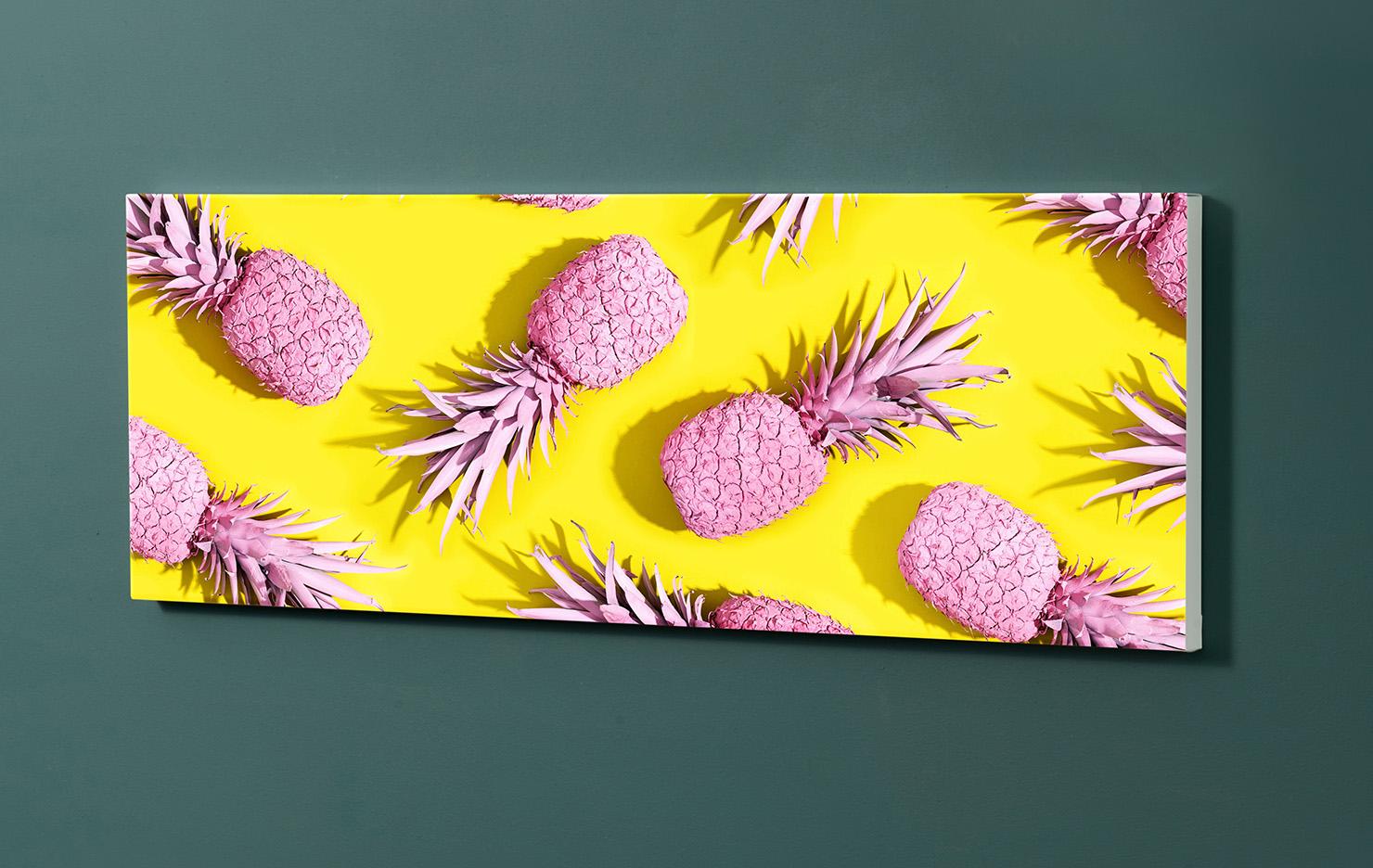 Magnettafel NOTIZ 90x30cm Motiv-Pinnwand M144 Ananas