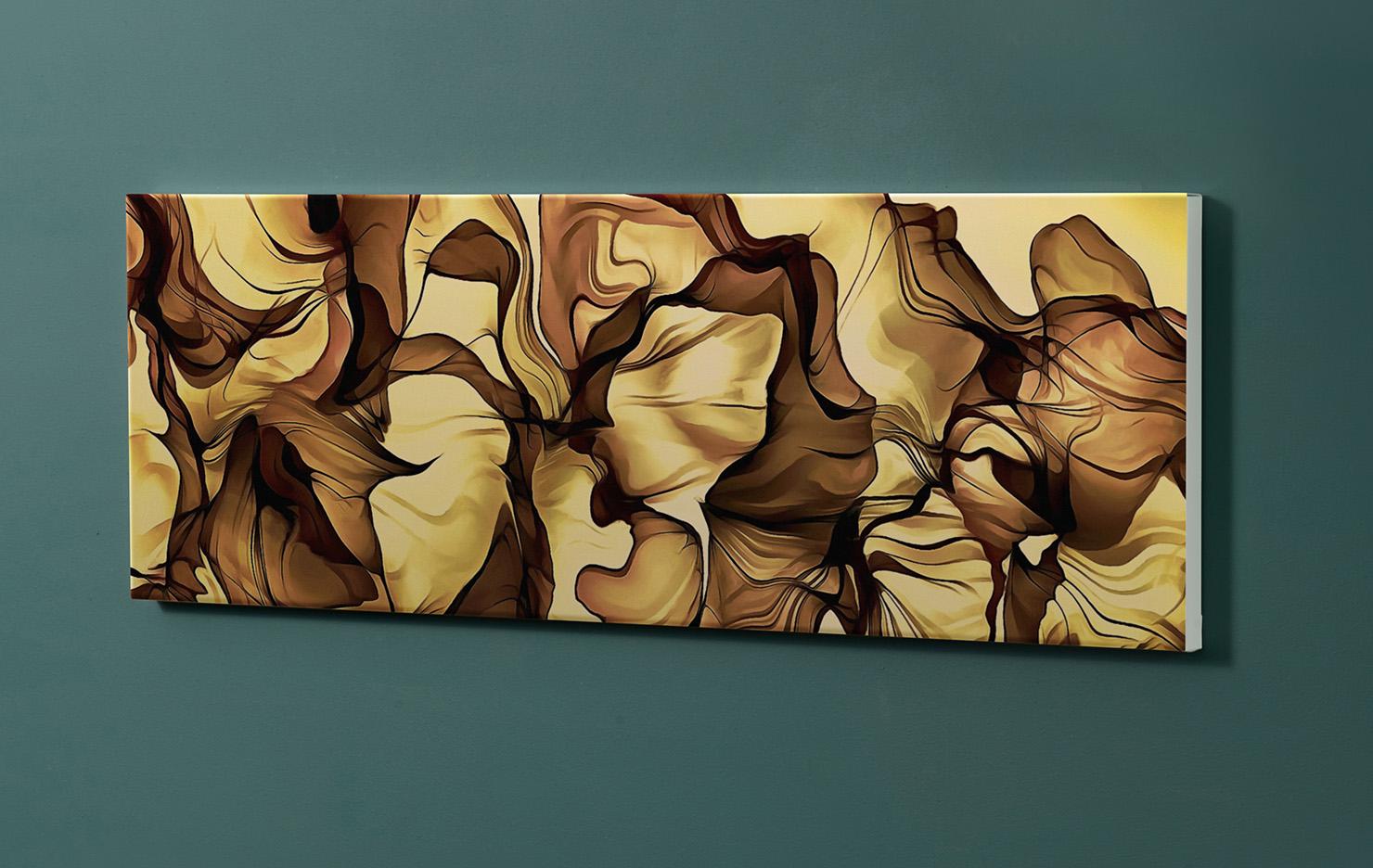 Magnettafel NOTIZ 90x30cm Motiv-Pinnwand M152 Kunst Modern
