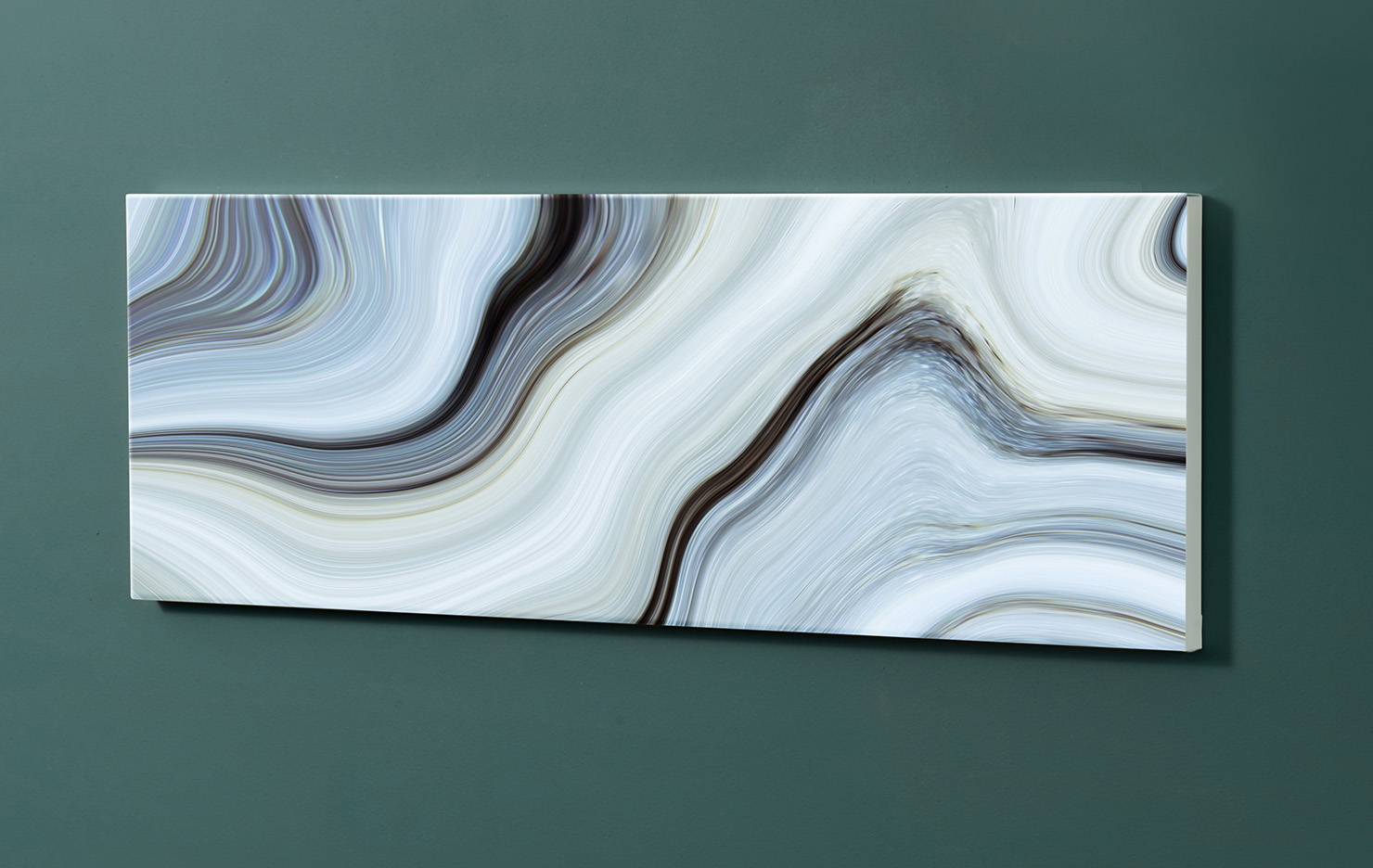 Magnettafel NOTIZ 90x30cm Motiv-Pinnwand M155 Abstrakt Kunst