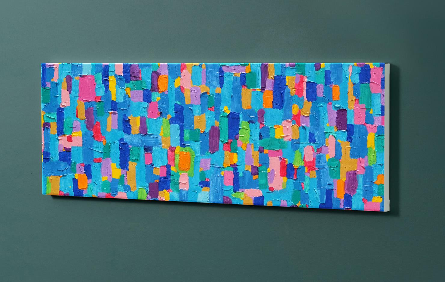 Magnettafel NOTIZ 90x30cm Motiv-Pinnwand M161 Kunst Modern