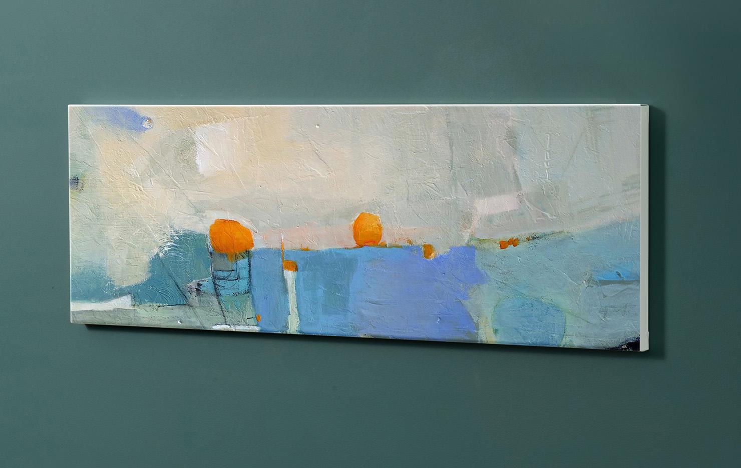 Magnettafel NOTIZ 90x30cm Motiv-Pinnwand M163 Abstrakt Kunst