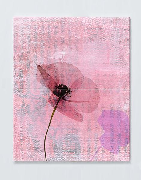Magnettafel NOTIZ 60x80cm Motiv Blumen MDH01 Motiv-Pinnwand