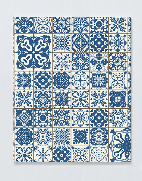 Magnettafel NOTIZ 60x80cm Motiv MOSAIK MDH20 Motiv-Pinnwand