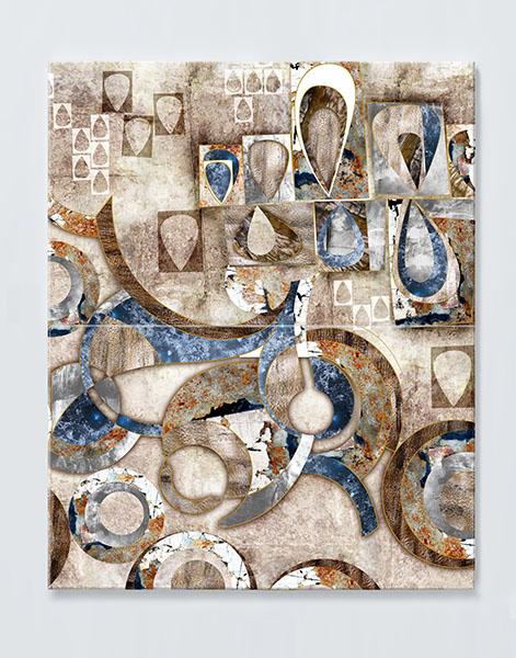 Magnettafel NOTIZ 60x80cm Motiv KUNST MDH24 Motiv-Pinnwand